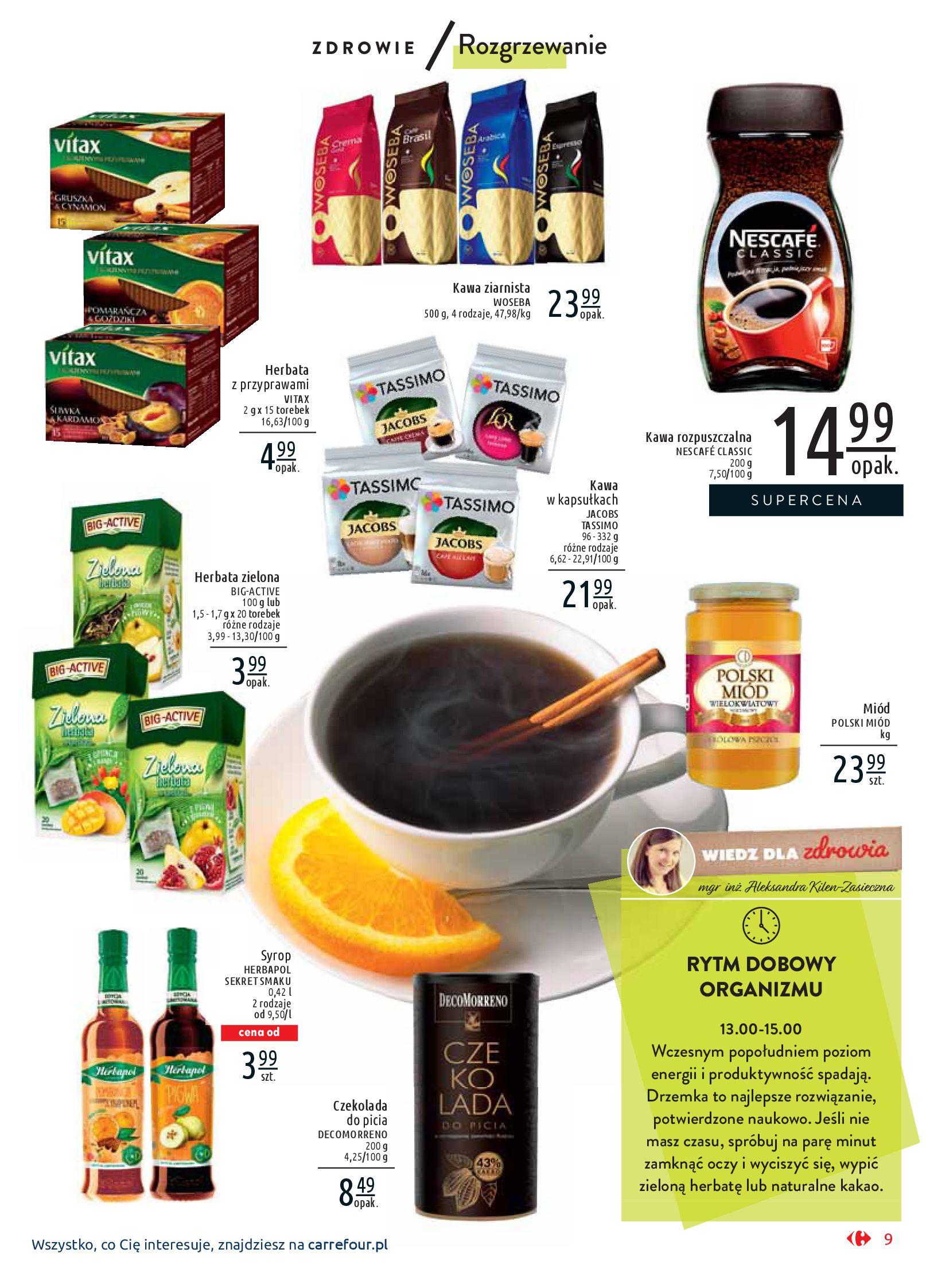 Gazetka Carrefour Market - Wiedz dla zdrowia-07.01.2020-18.01.2020-page-9