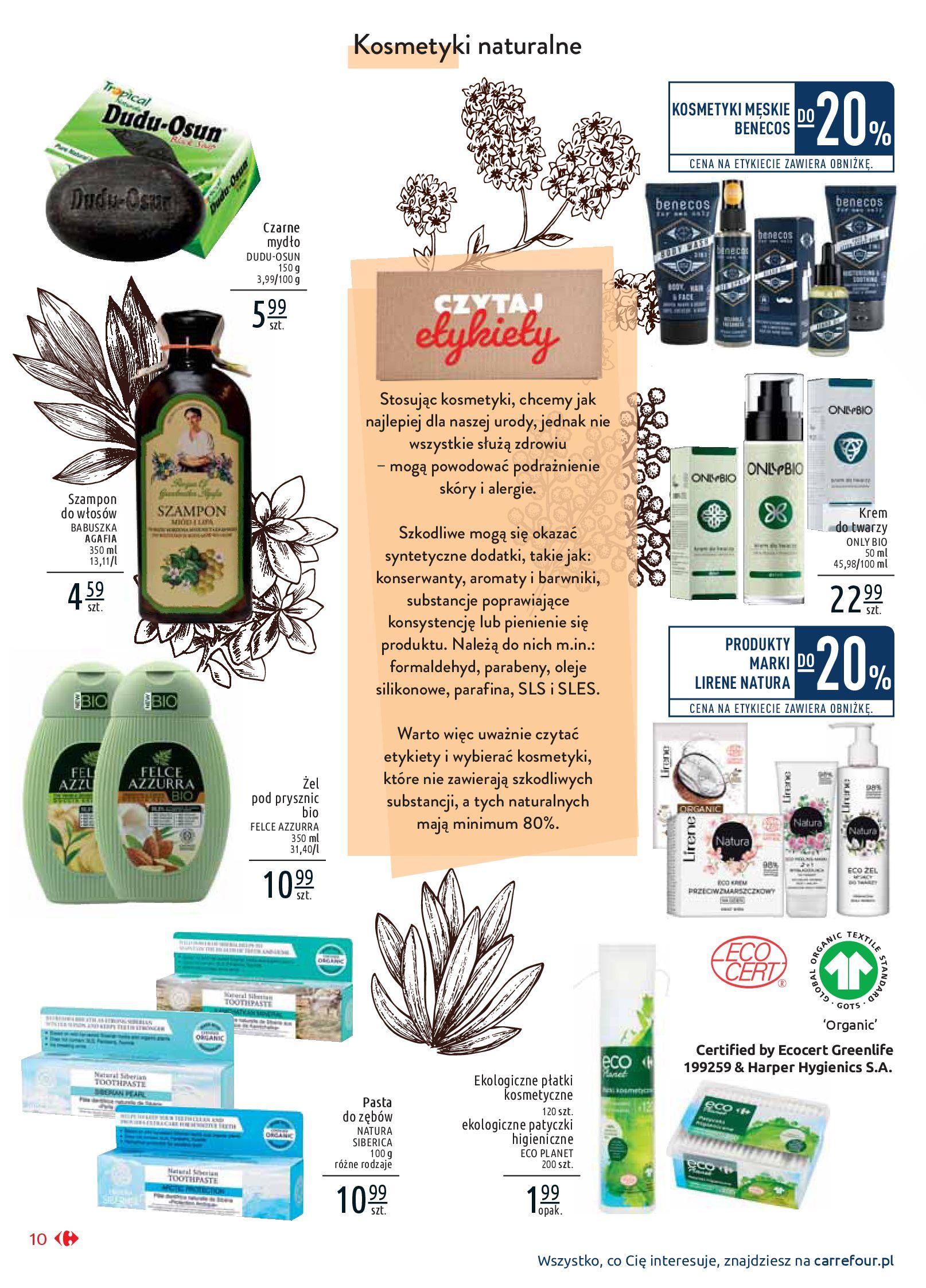 Gazetka Carrefour Market - Wiedz dla zdrowia-07.01.2020-18.01.2020-page-10