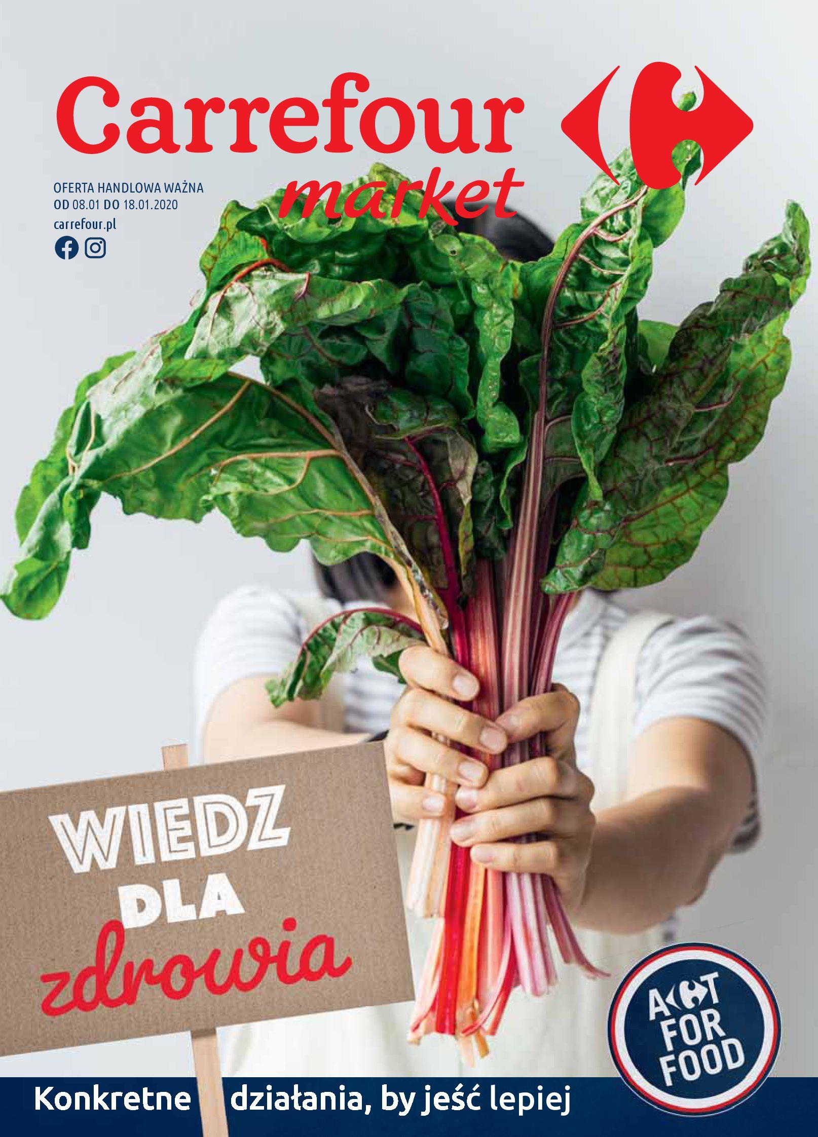 Gazetka Carrefour Market - Wiedz dla zdrowia-07.01.2020-18.01.2020-page-1