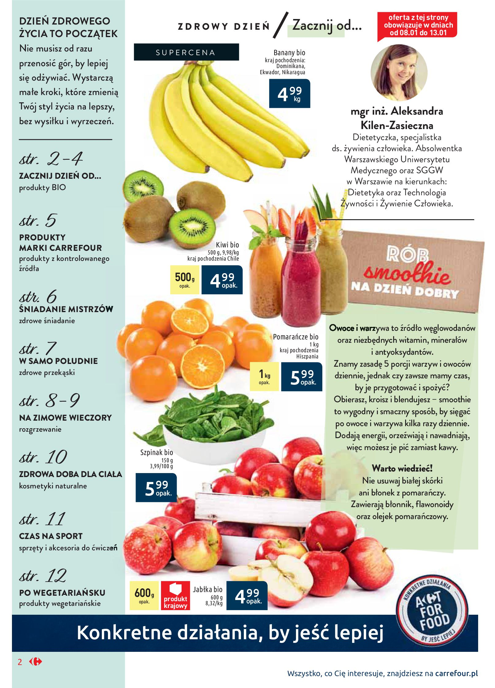 Gazetka Carrefour Market - Wiedz dla zdrowia-07.01.2020-18.01.2020-page-2