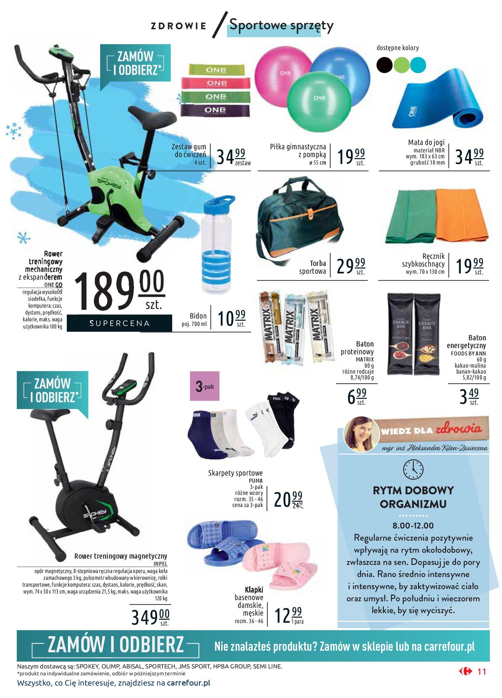 Gazetka Carrefour Market - Wiedz dla zdrowia-07.01.2020-18.01.2020-page-11