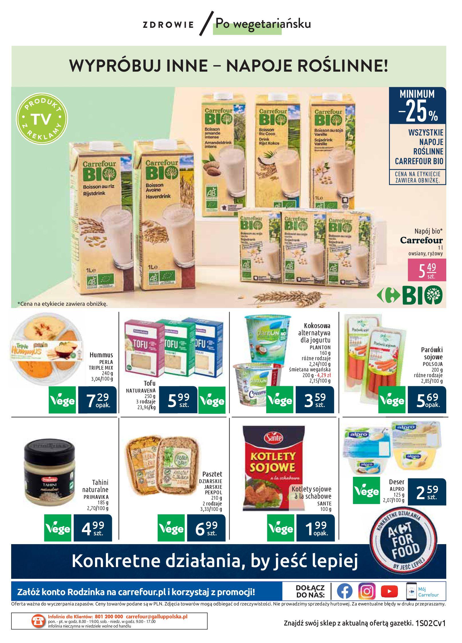 Gazetka Carrefour Market - Wiedz dla zdrowia-07.01.2020-18.01.2020-page-12