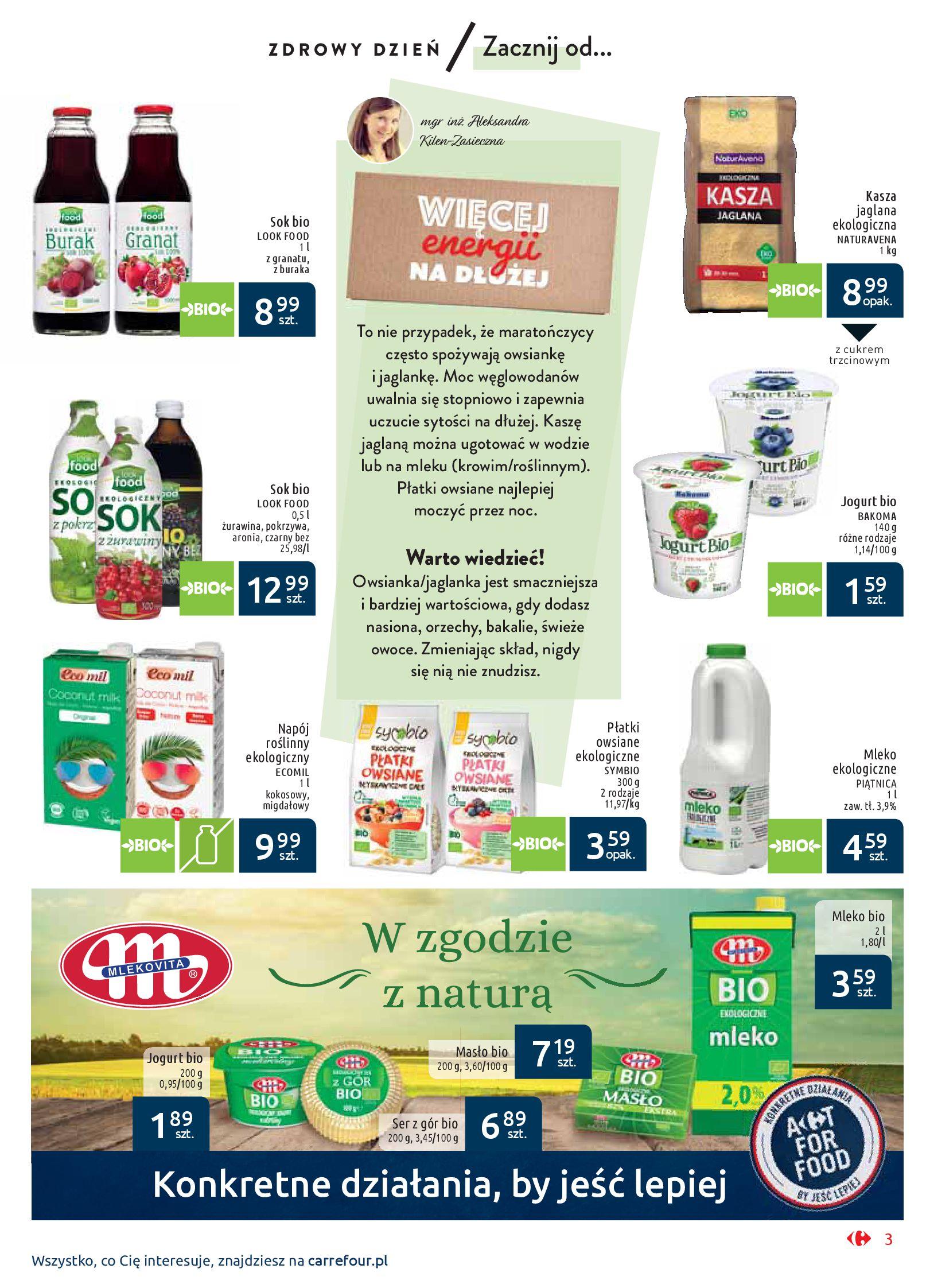 Gazetka Carrefour Market - Wiedz dla zdrowia-07.01.2020-18.01.2020-page-3