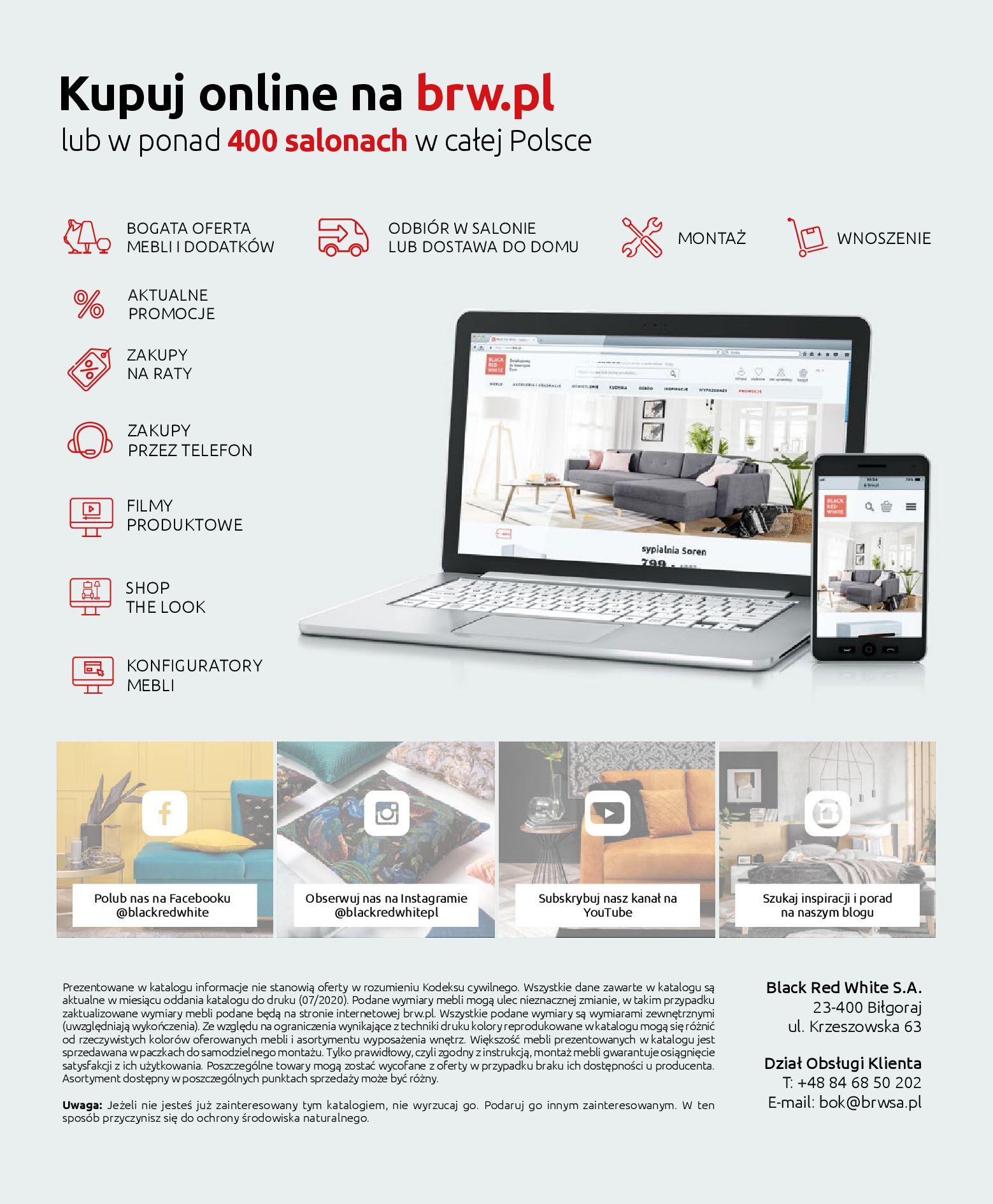 Gazetka Black Red White - Katalog - Meble wypoczynkowe-08.09.2020-31.12.2020-page-132