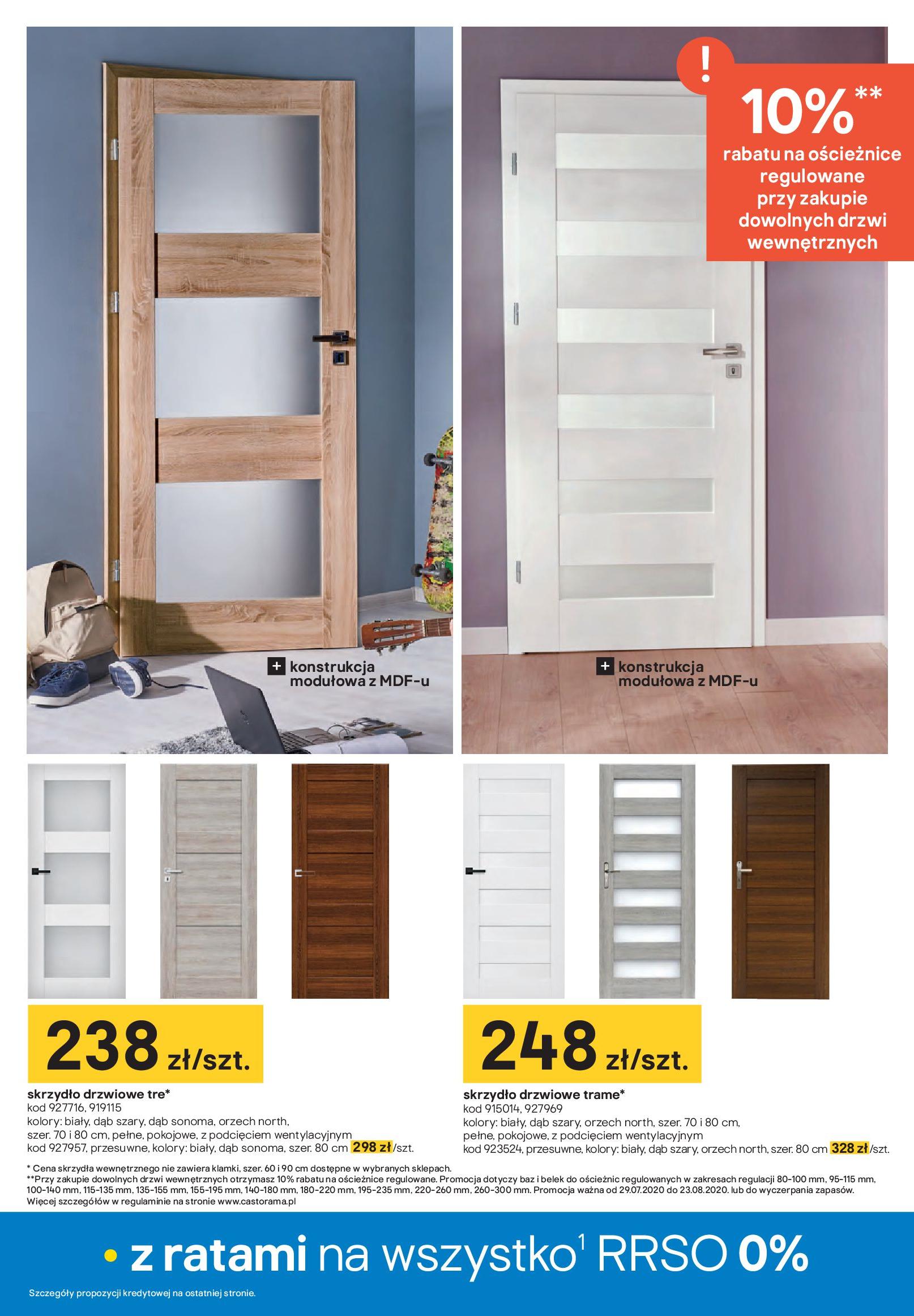 Gazetka Castorama - Drzwi i podłogi-28.07.2020-23.08.2020-page-17
