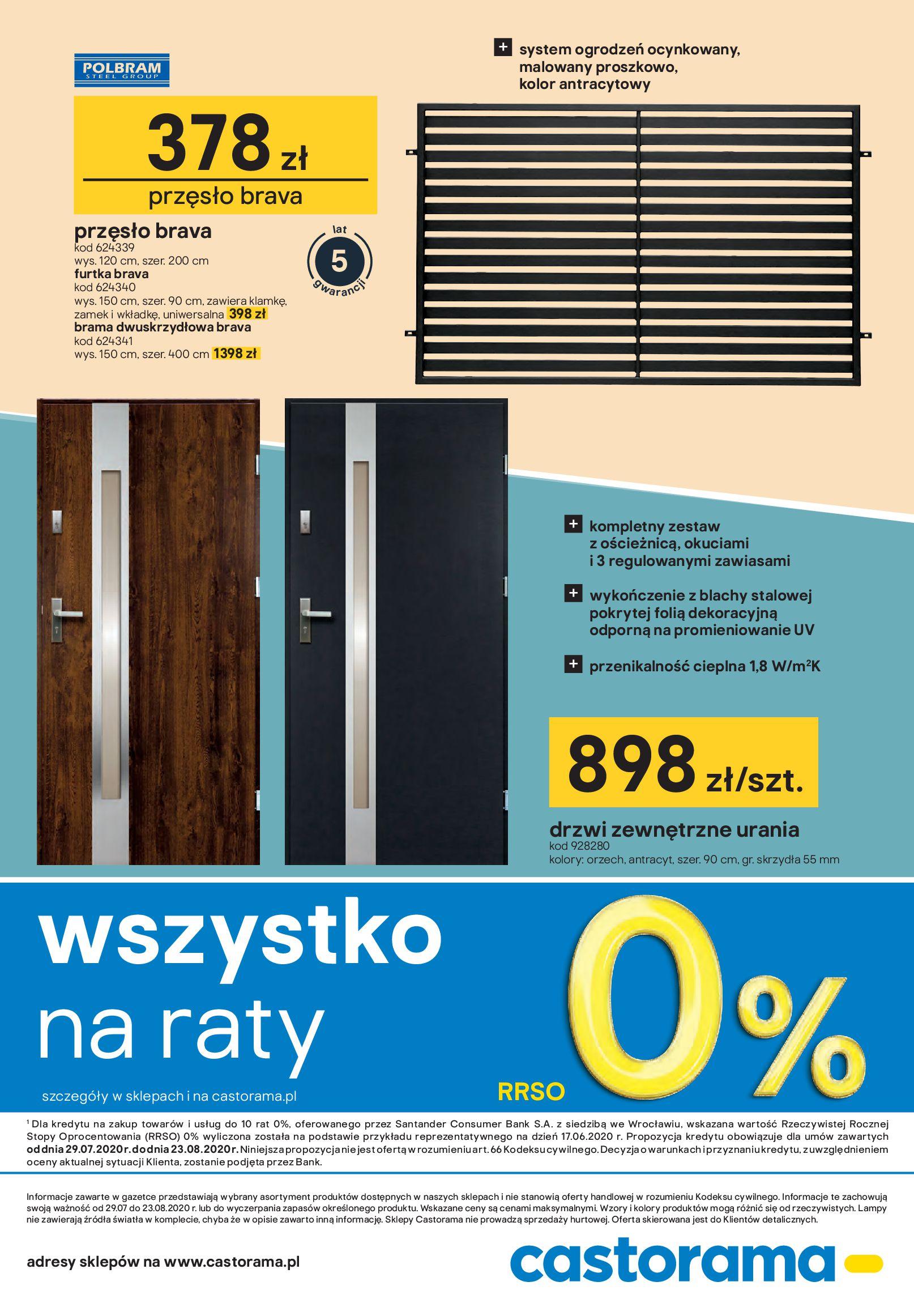 Gazetka Castorama - Drzwi i podłogi-28.07.2020-23.08.2020-page-30