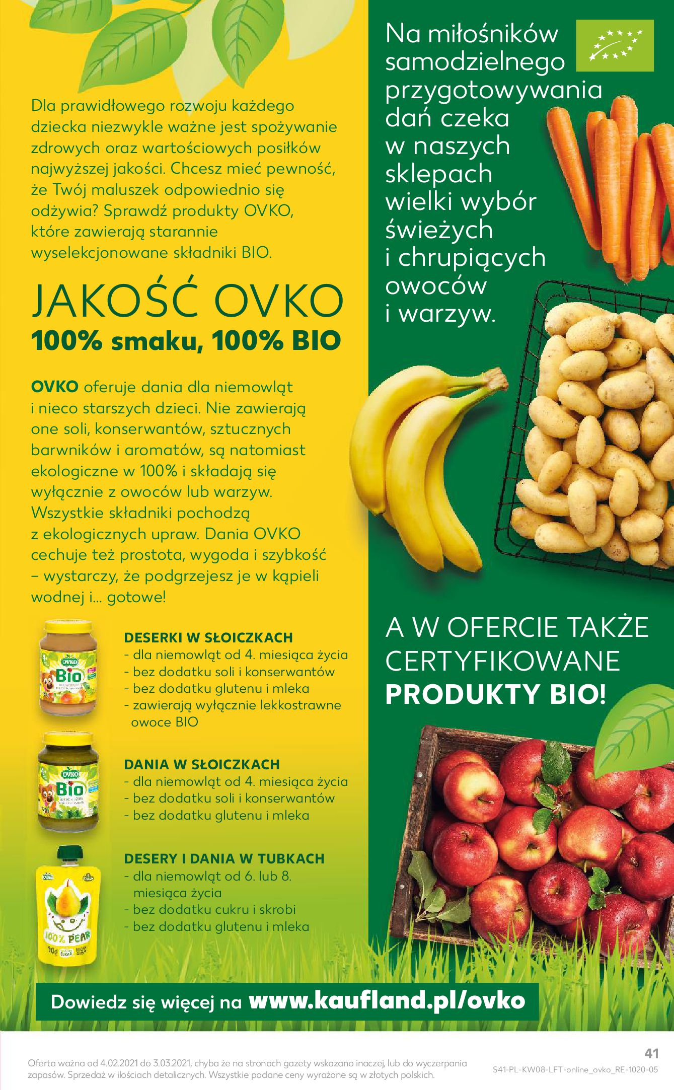 Gazetka Kaufland: Gazetka promocyjna od 25.02 2021-02-25 page-41