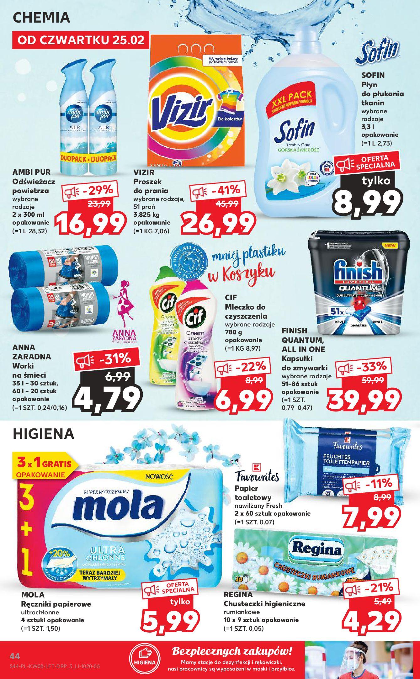 Gazetka Kaufland: Gazetka promocyjna od 25.02 2021-02-25 page-44