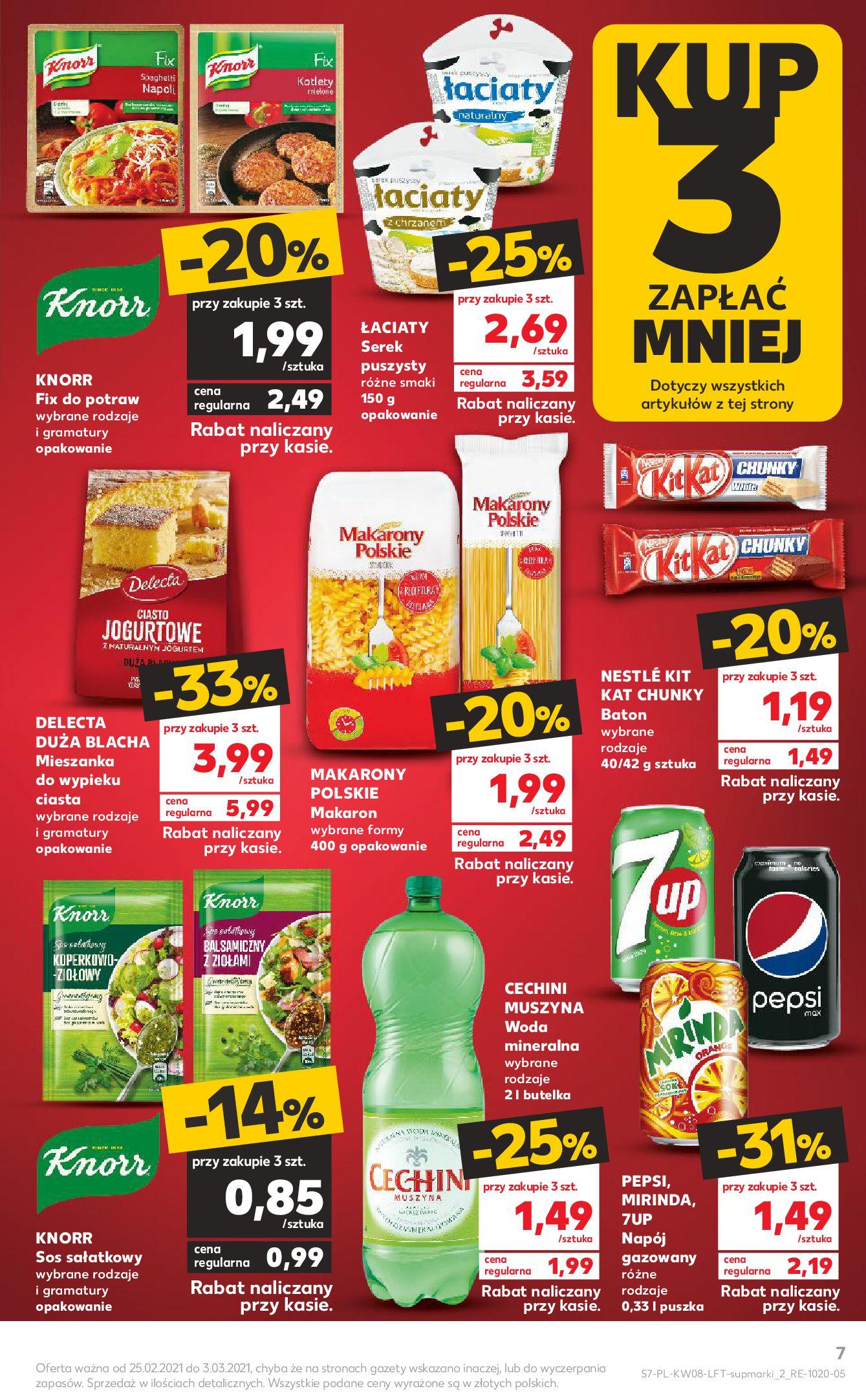 Gazetka Kaufland: Gazetka promocyjna od 25.02 2021-02-25 page-7