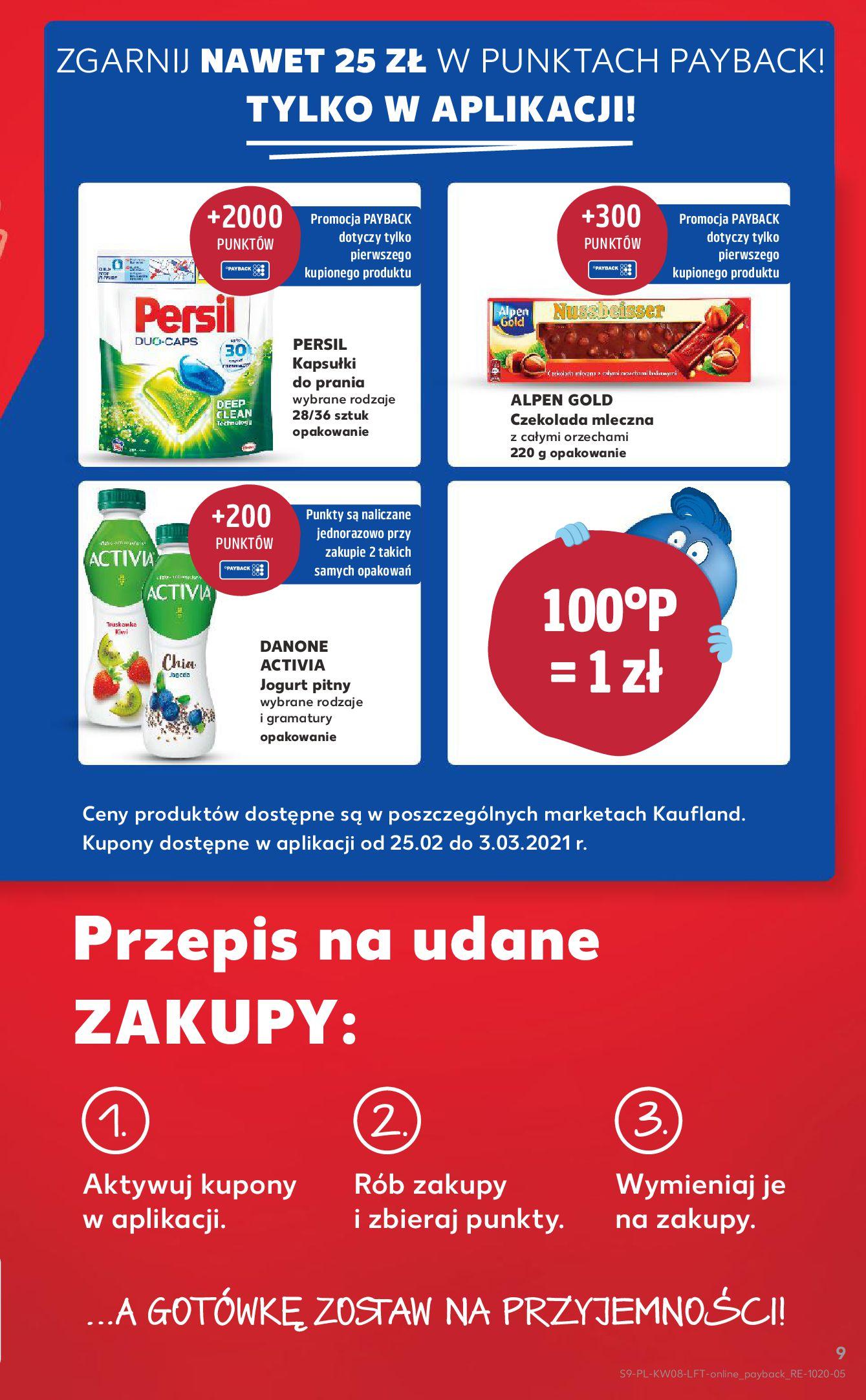 Gazetka Kaufland: Gazetka promocyjna od 25.02 2021-02-25 page-9