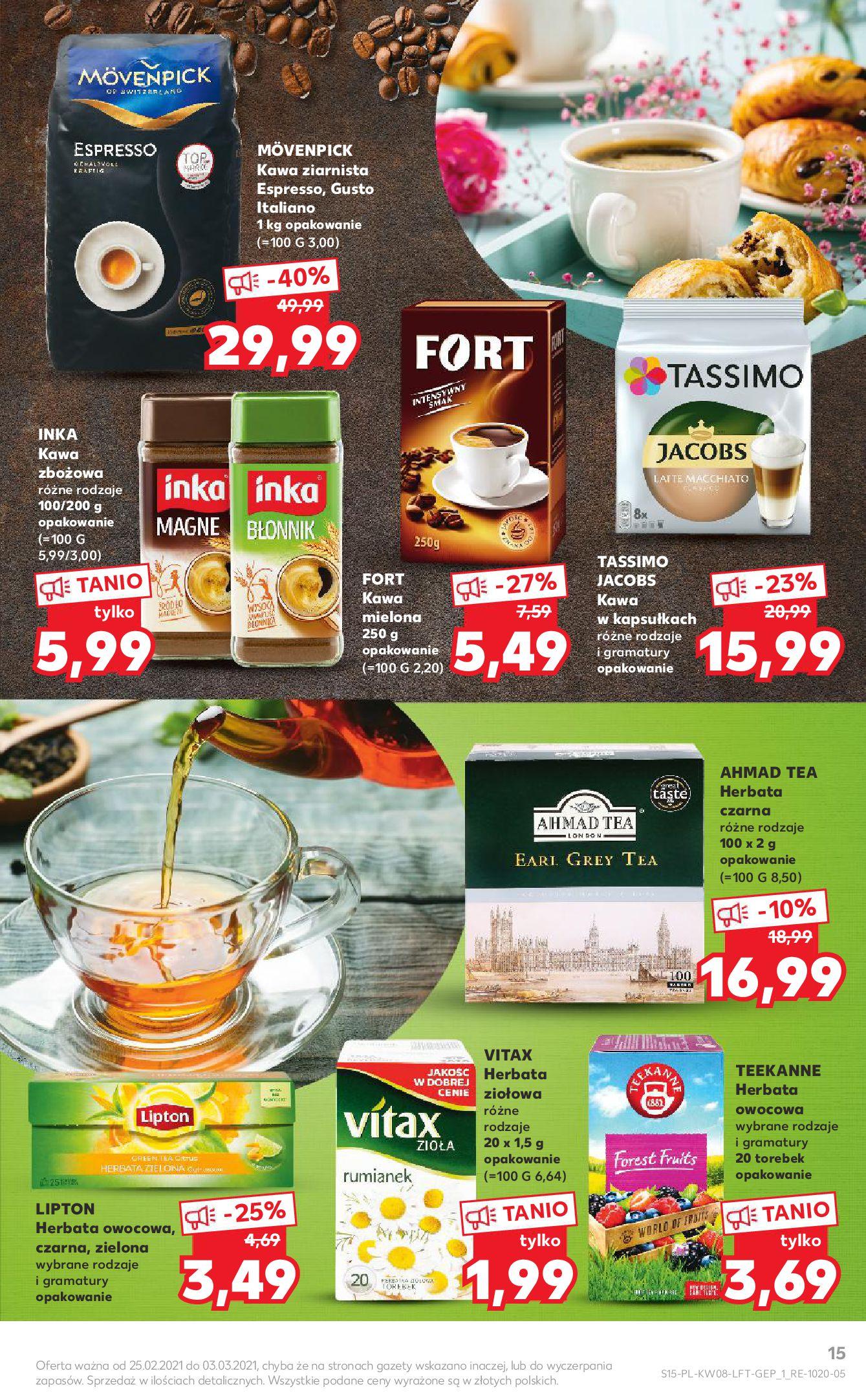 Gazetka Kaufland: Gazetka promocyjna od 25.02 2021-02-25 page-15