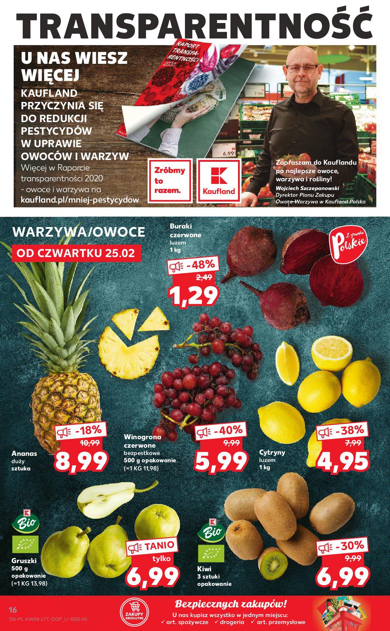 Gazetka Kaufland: Gazetka promocyjna od 25.02 2021-02-25 page-16