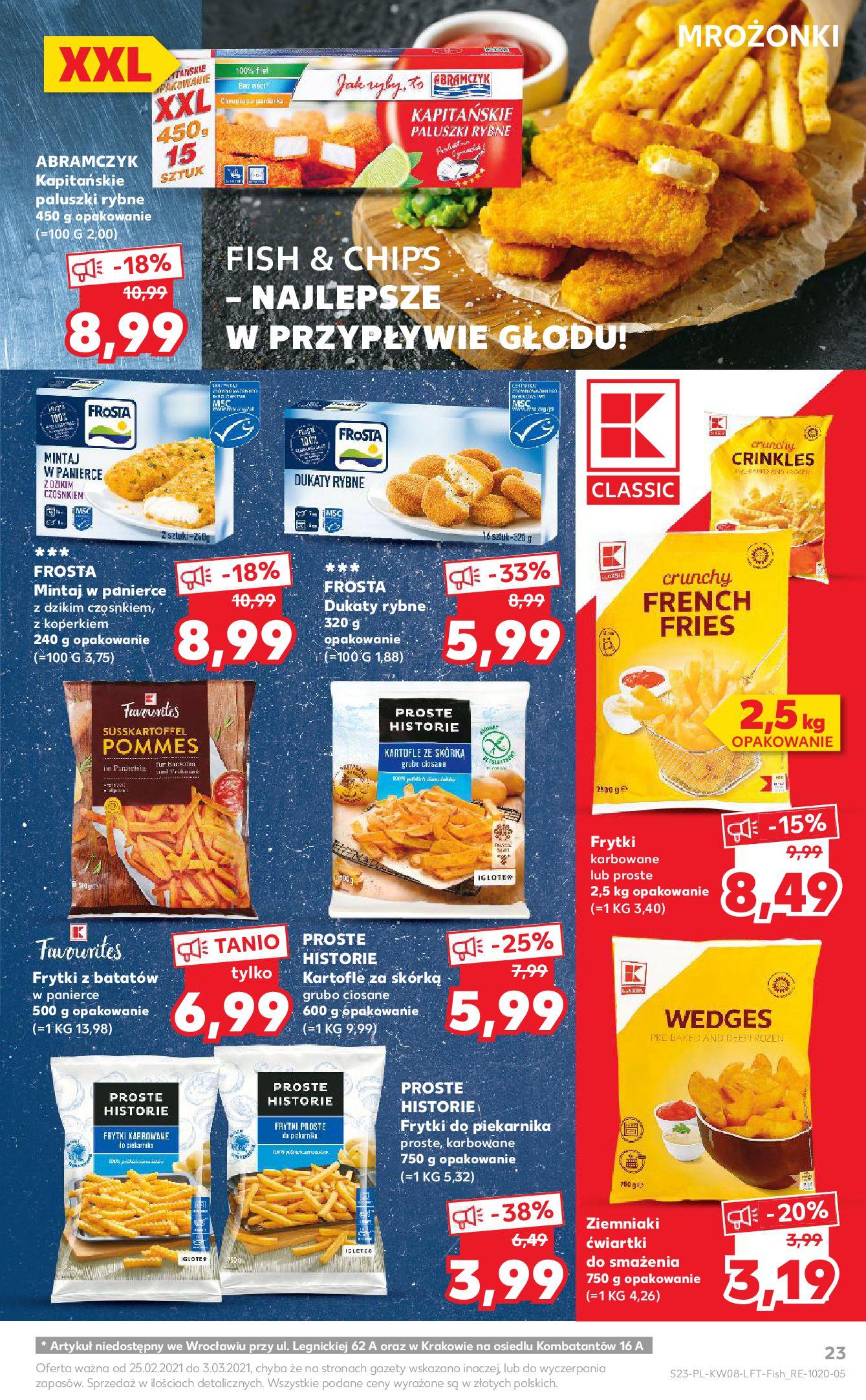 Gazetka Kaufland: Gazetka promocyjna od 25.02 2021-02-25 page-23