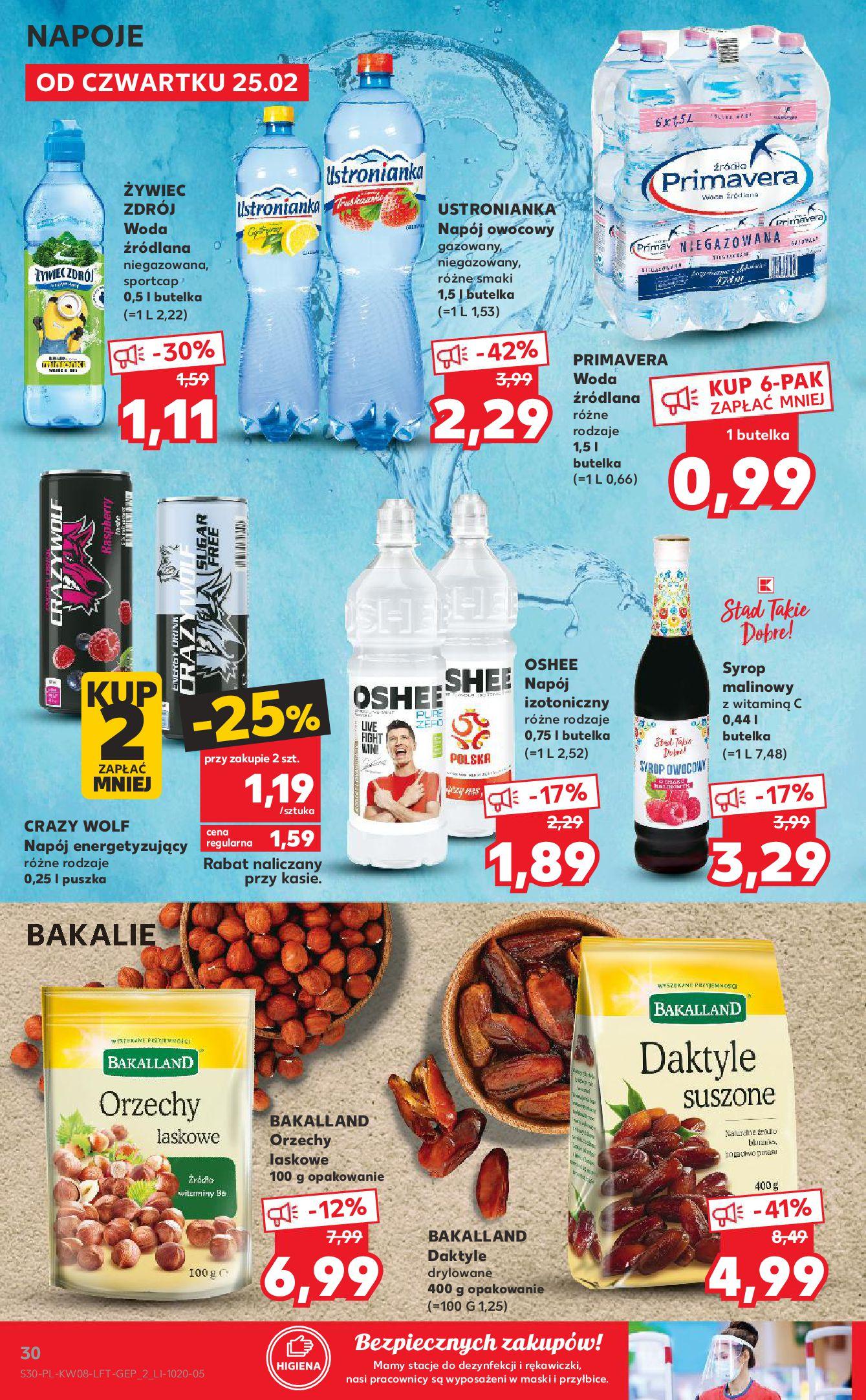 Gazetka Kaufland: Gazetka promocyjna od 25.02 2021-02-25 page-30