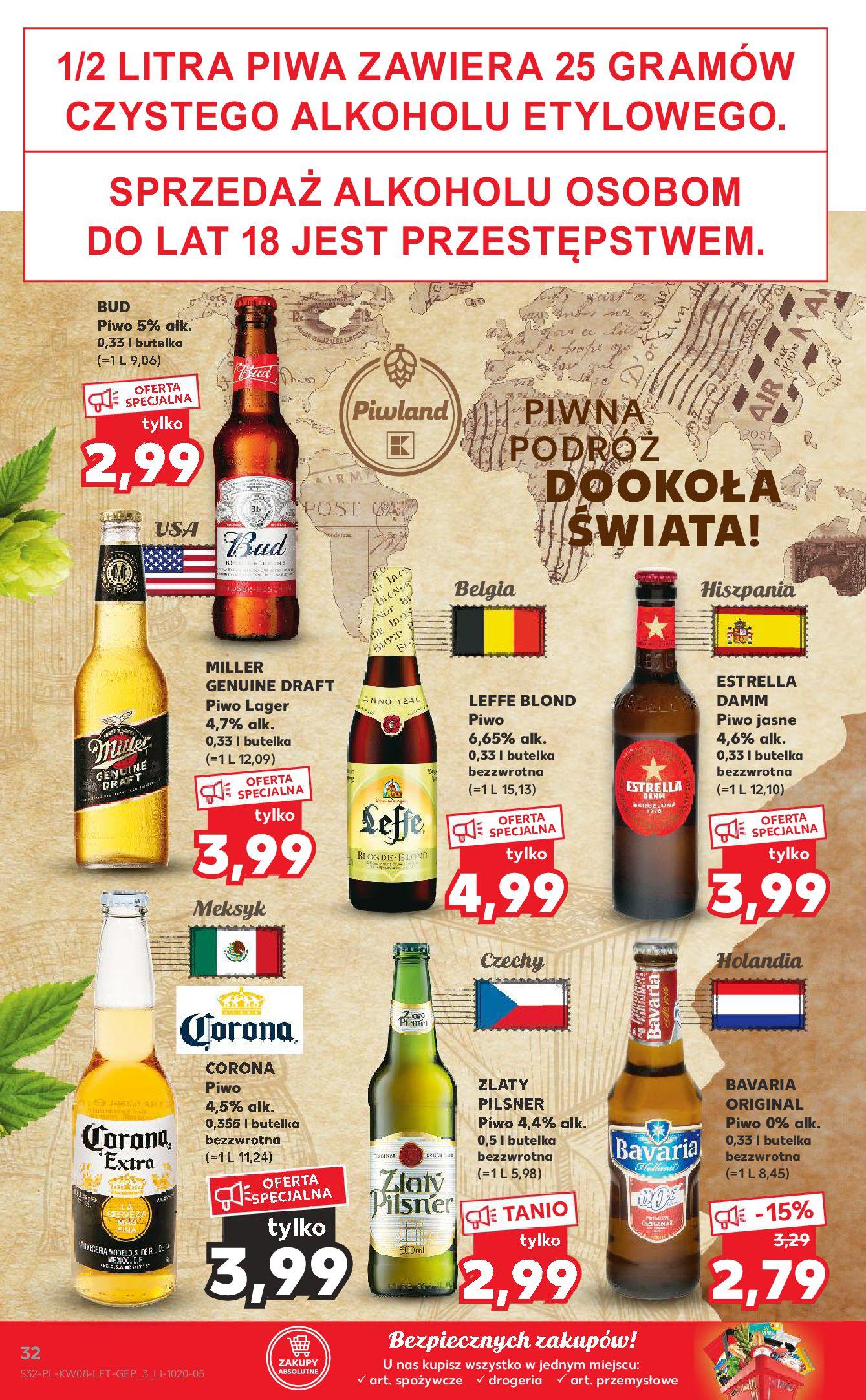 Gazetka Kaufland: Gazetka promocyjna od 25.02 2021-02-25 page-32