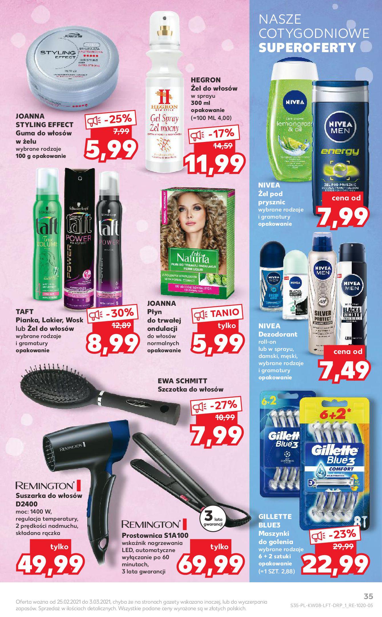 Gazetka Kaufland: Gazetka promocyjna od 25.02 2021-02-25 page-35