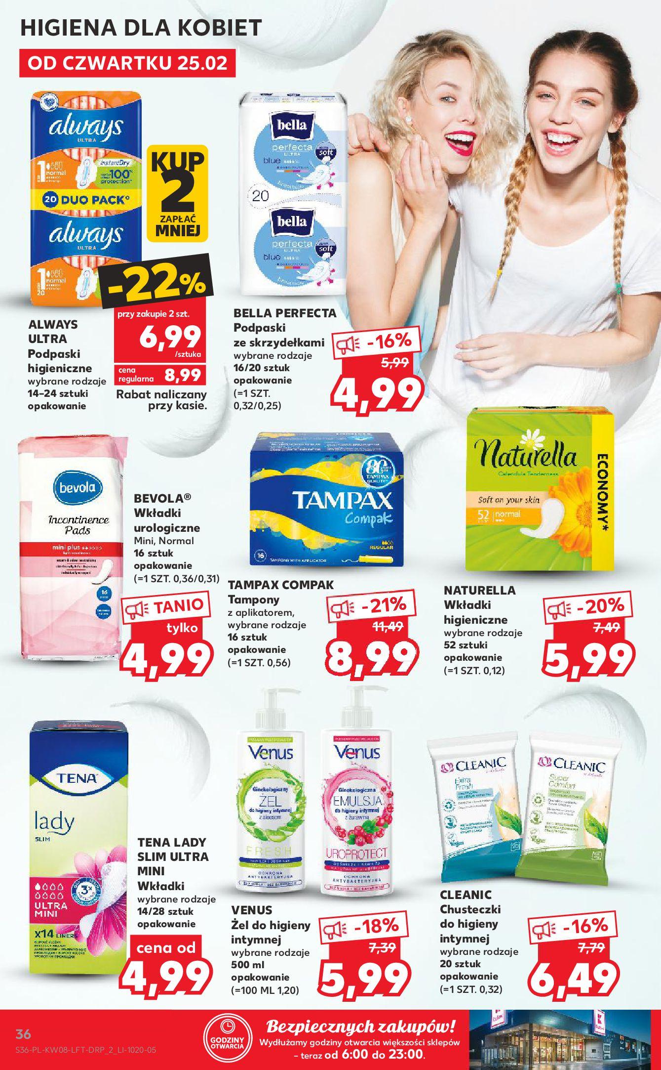 Gazetka Kaufland: Gazetka promocyjna od 25.02 2021-02-25 page-36