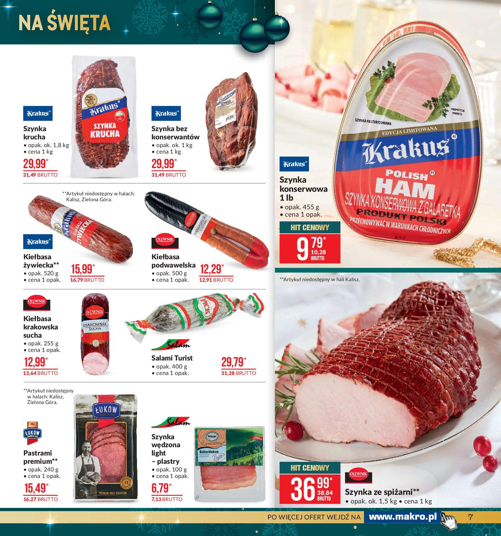 Gazetka Makro - Artykuły spożywcze-02.12.2019-16.12.2019-page-7