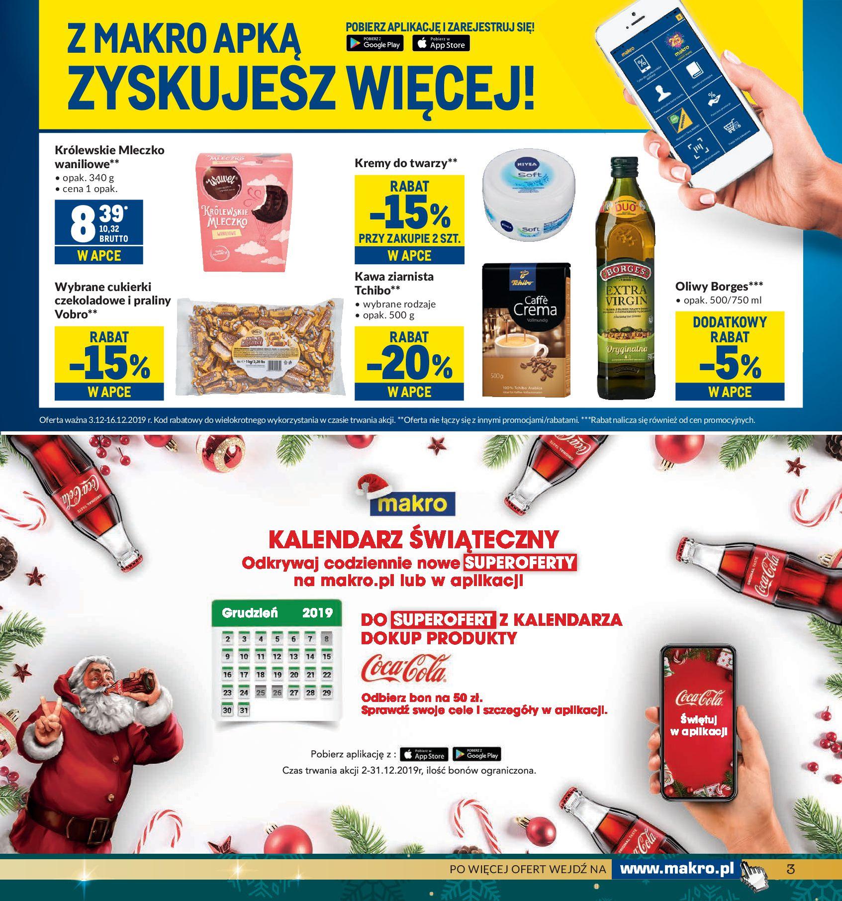 Gazetka Makro - Artykuły spożywcze-02.12.2019-16.12.2019-page-3