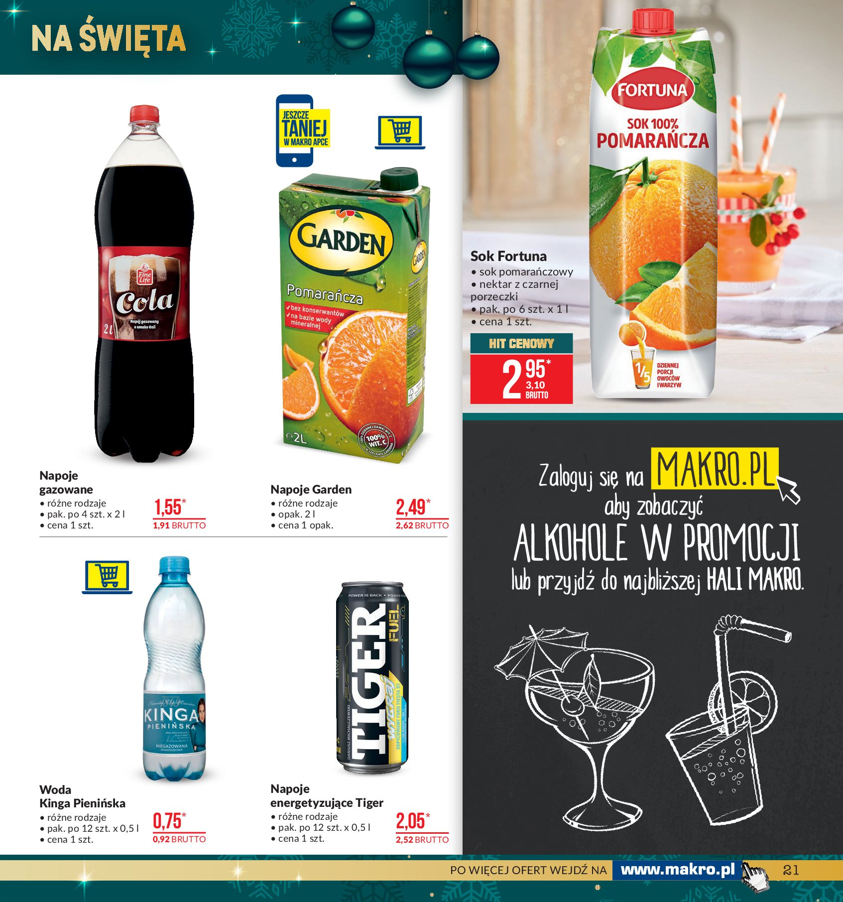 Gazetka Makro - Artykuły spożywcze-02.12.2019-16.12.2019-page-21
