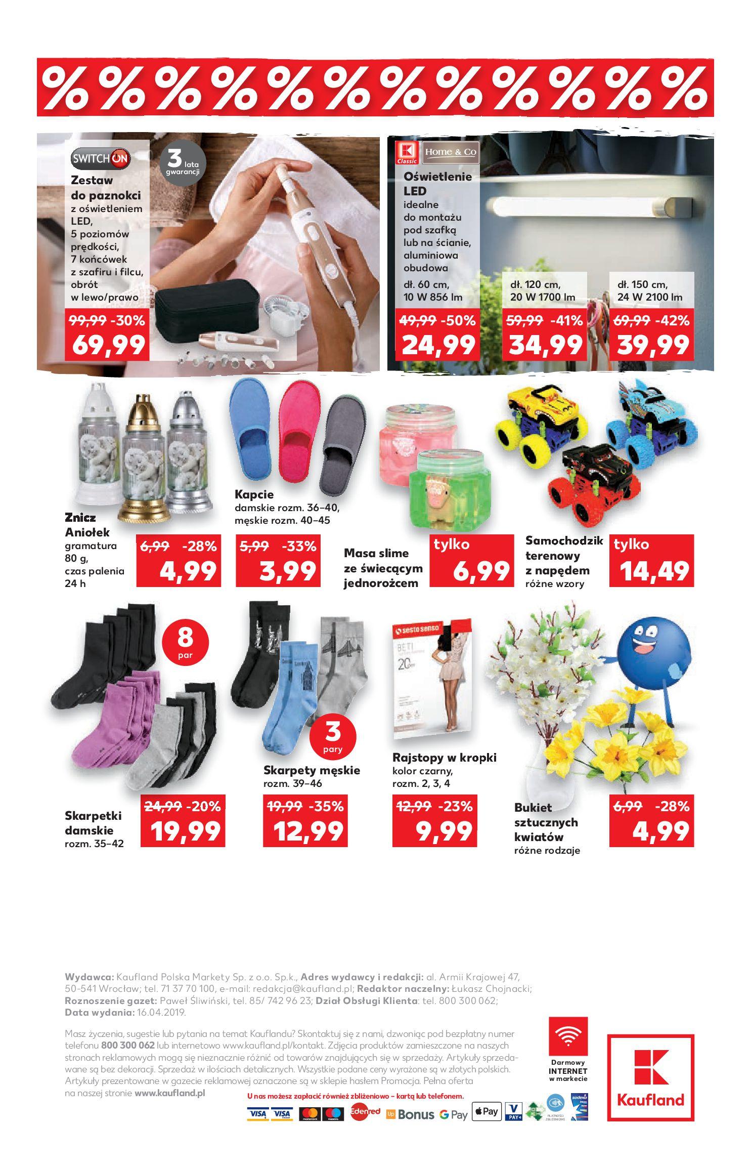 Gazetka Kaufland - Na dobry tydzień-16.04.2019-24.04.2019-page-