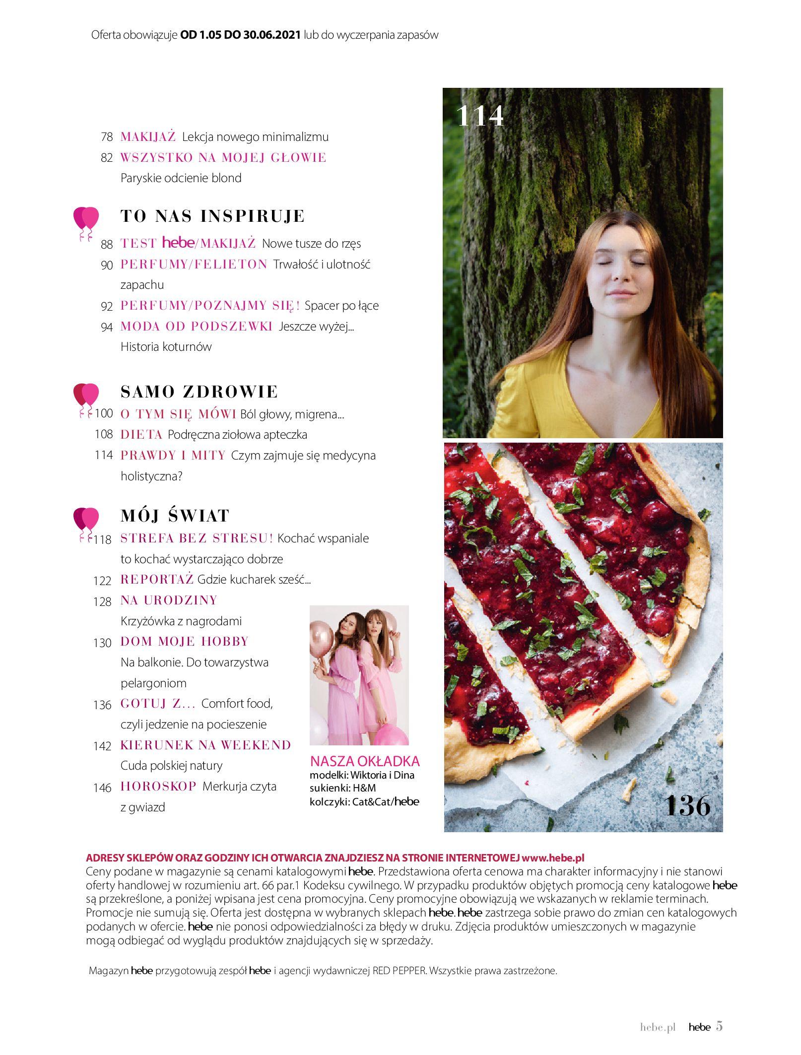 Gazetka hebe: Gazetka Hebe - Magazyn  2021-05-01 page-5