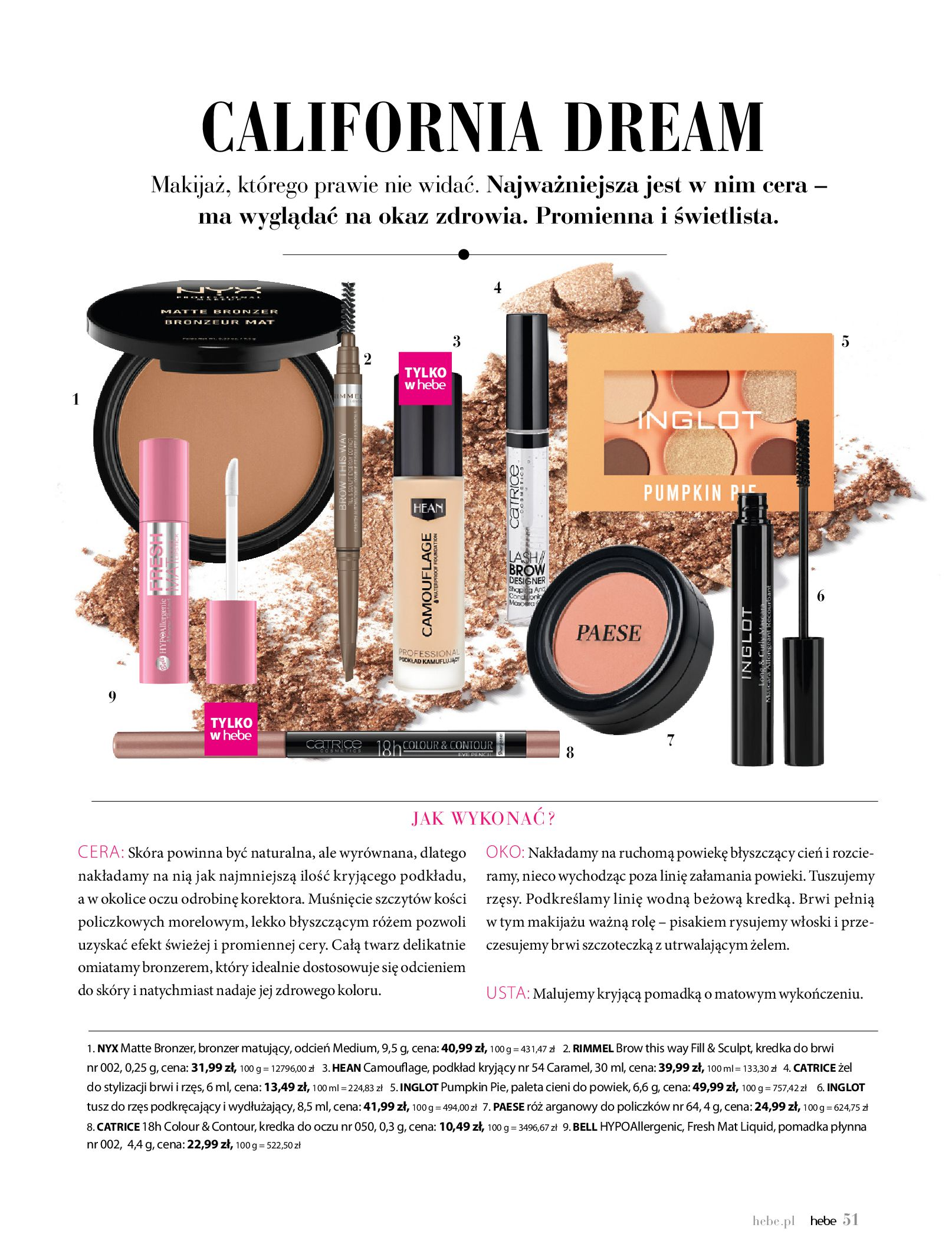 Gazetka hebe: Gazetka Hebe - Magazyn  2021-05-01 page-51
