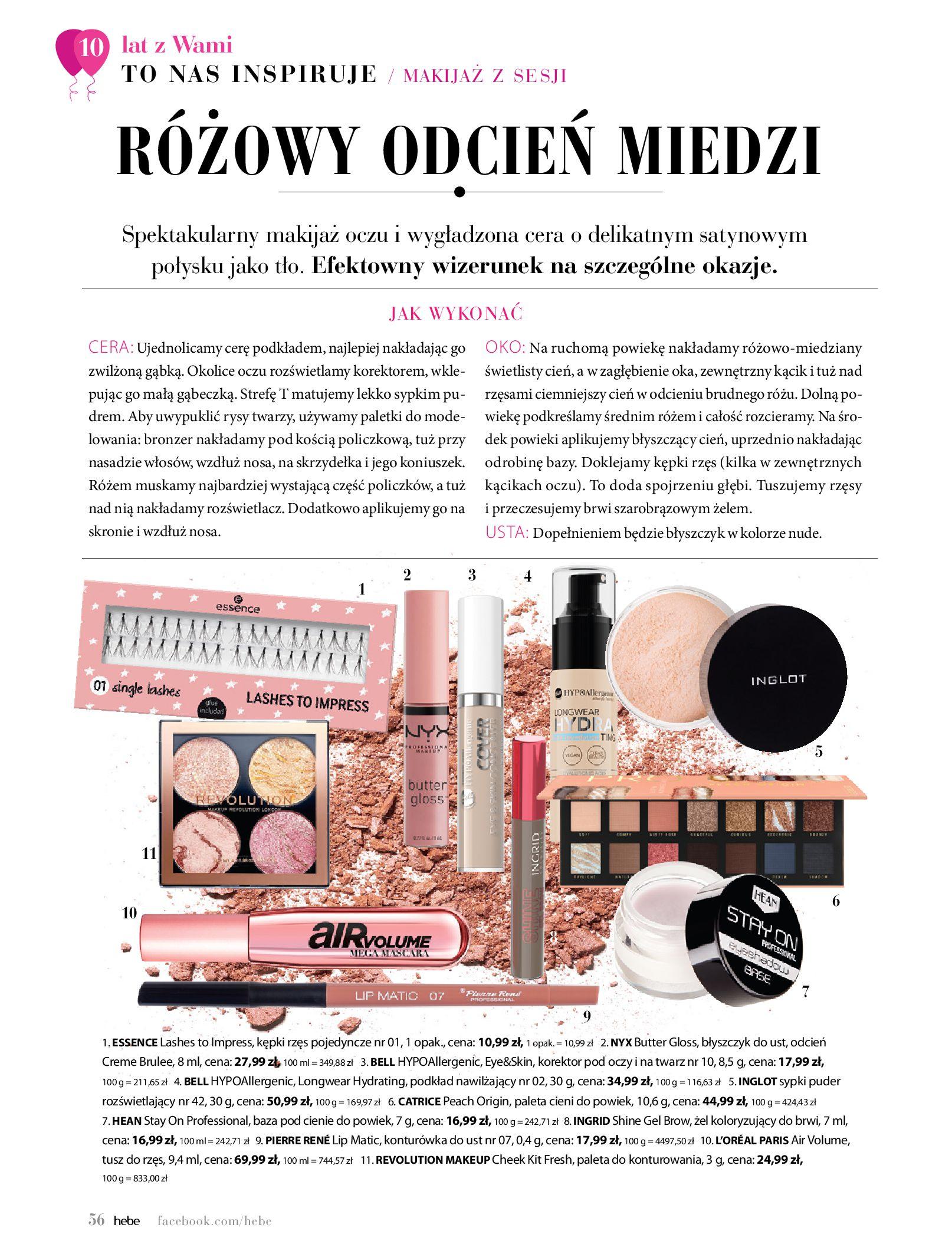 Gazetka hebe: Gazetka Hebe - Magazyn  2021-05-01 page-56