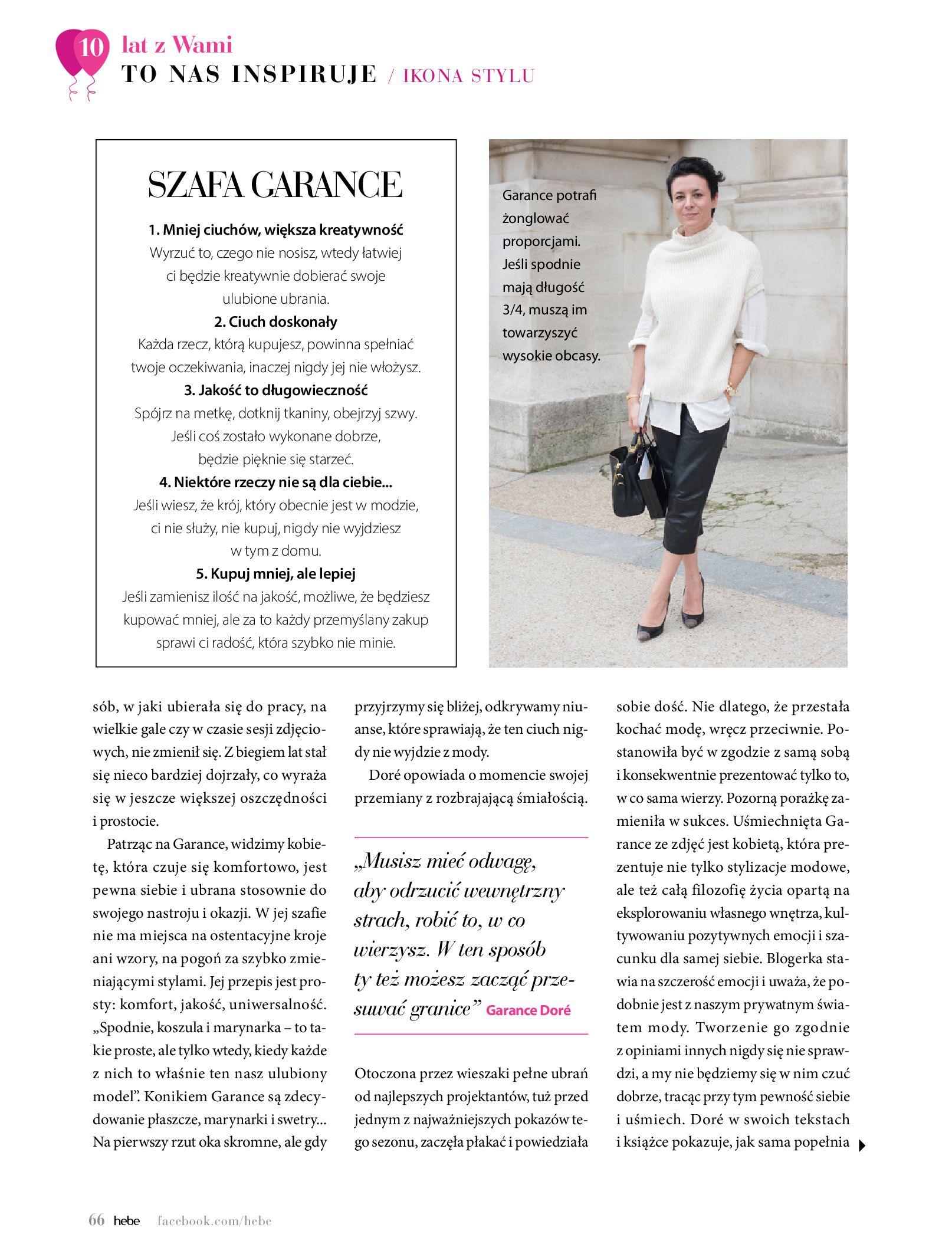 Gazetka hebe: Gazetka Hebe - Magazyn  2021-05-01 page-66