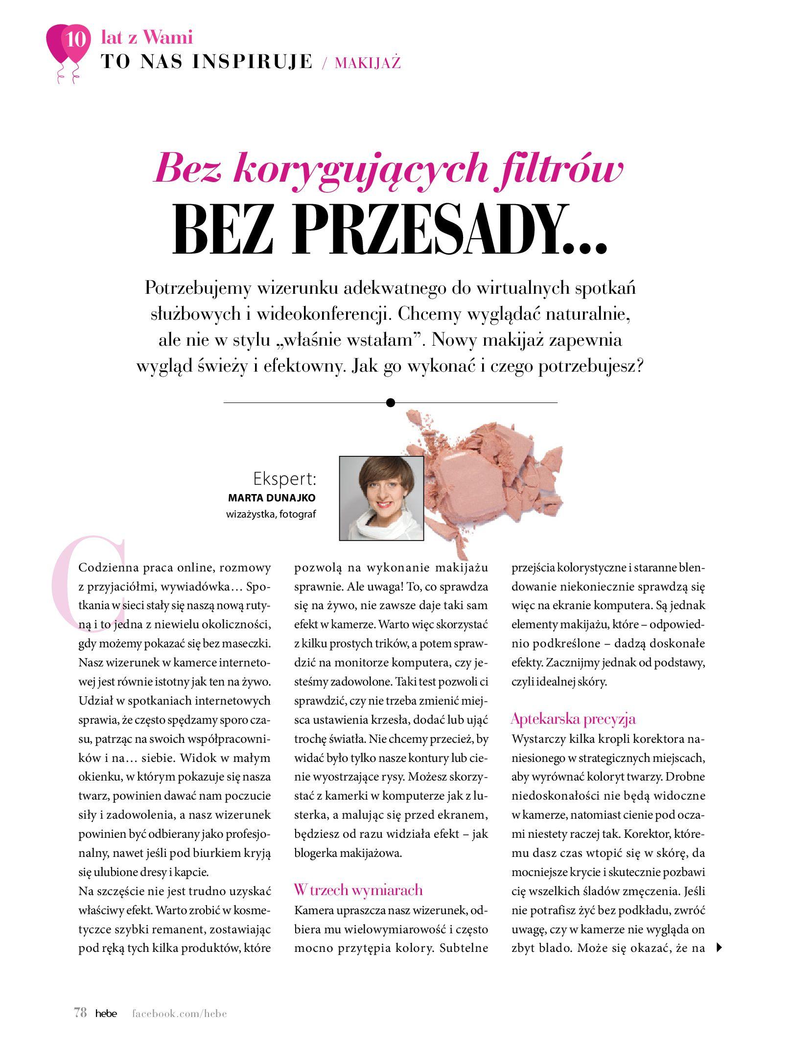 Gazetka hebe: Gazetka Hebe - Magazyn  2021-05-01 page-78