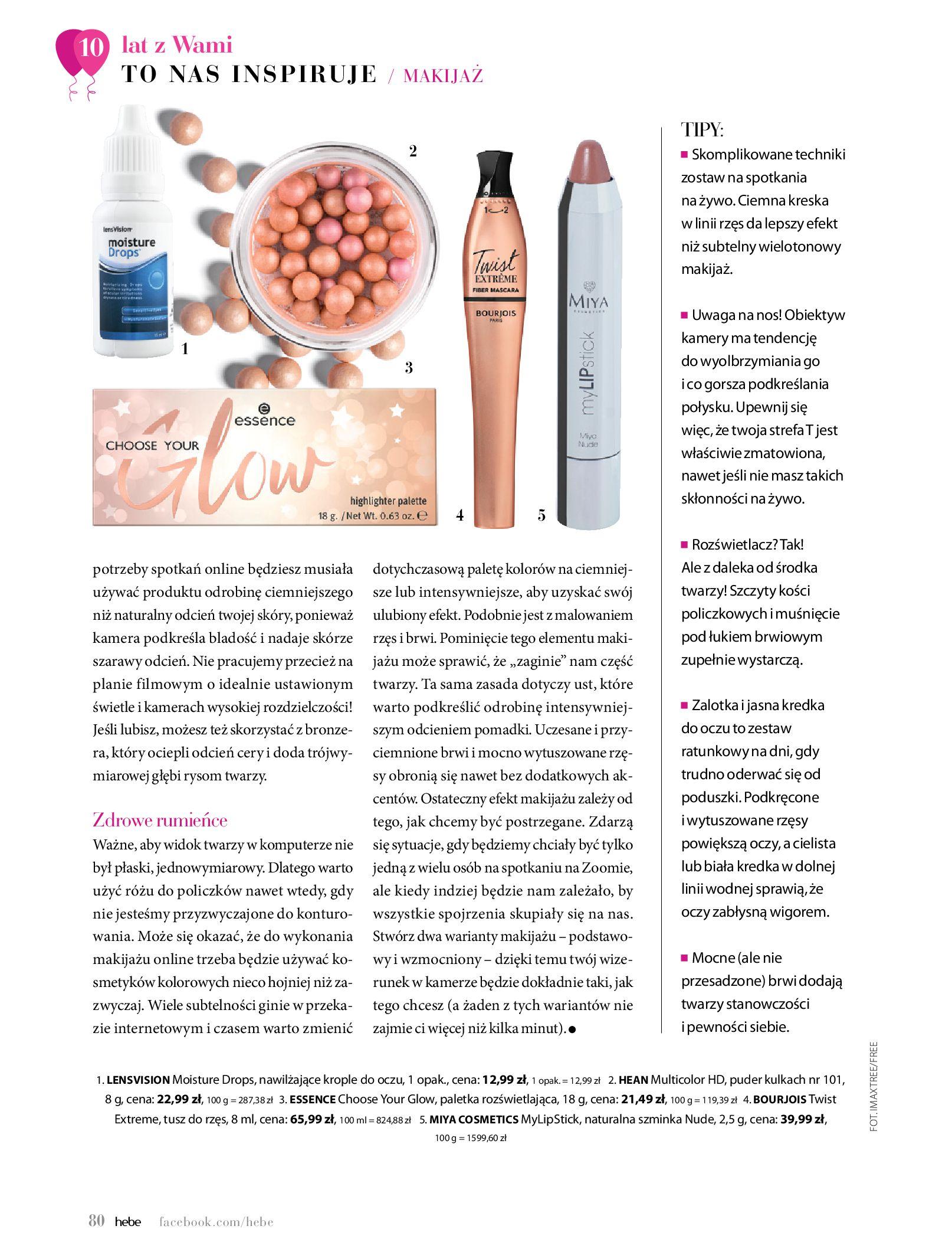Gazetka hebe: Gazetka Hebe - Magazyn  2021-05-01 page-80