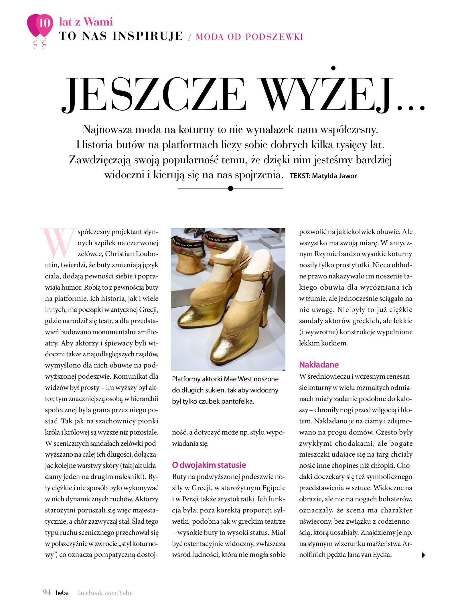 Gazetka hebe: Gazetka Hebe - Magazyn  2021-05-01 page-94