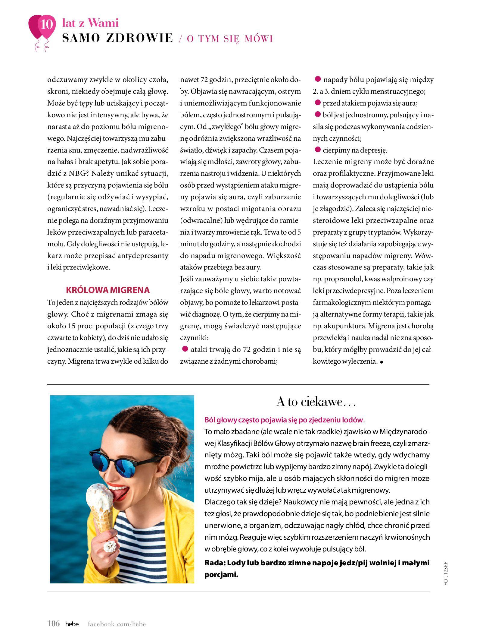 Gazetka hebe: Gazetka Hebe - Magazyn  2021-05-01 page-106