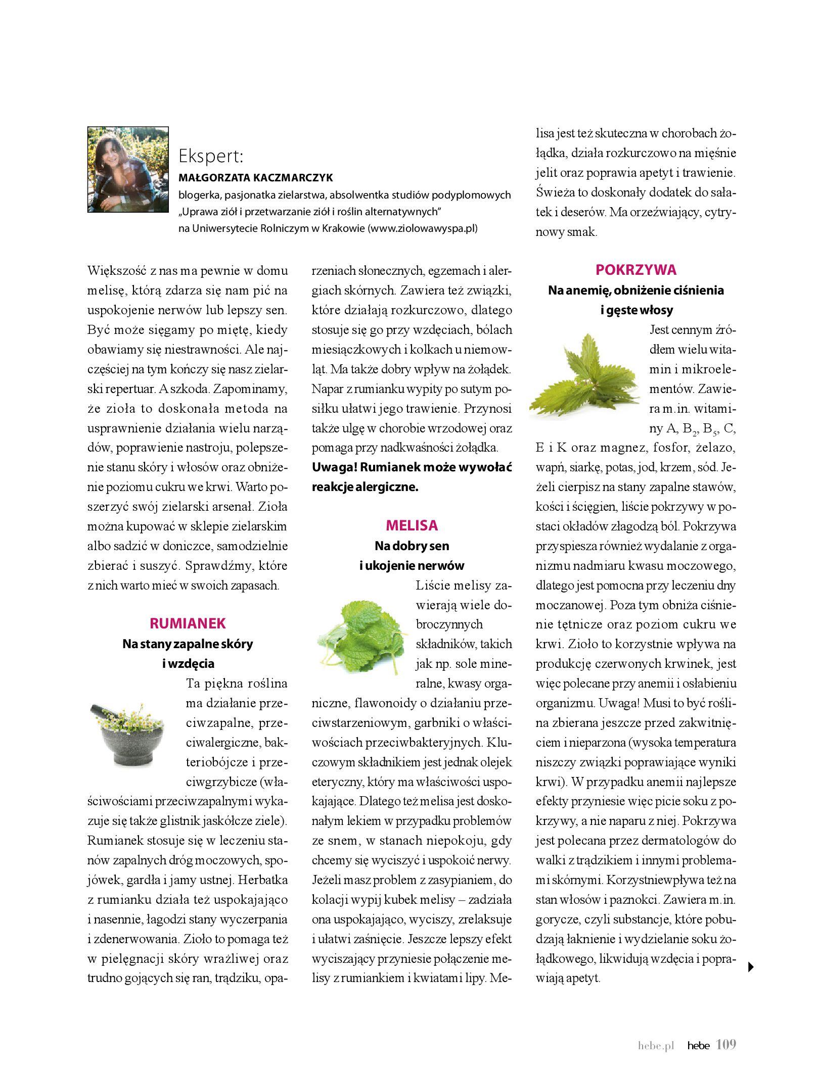 Gazetka hebe: Gazetka Hebe - Magazyn  2021-05-01 page-109