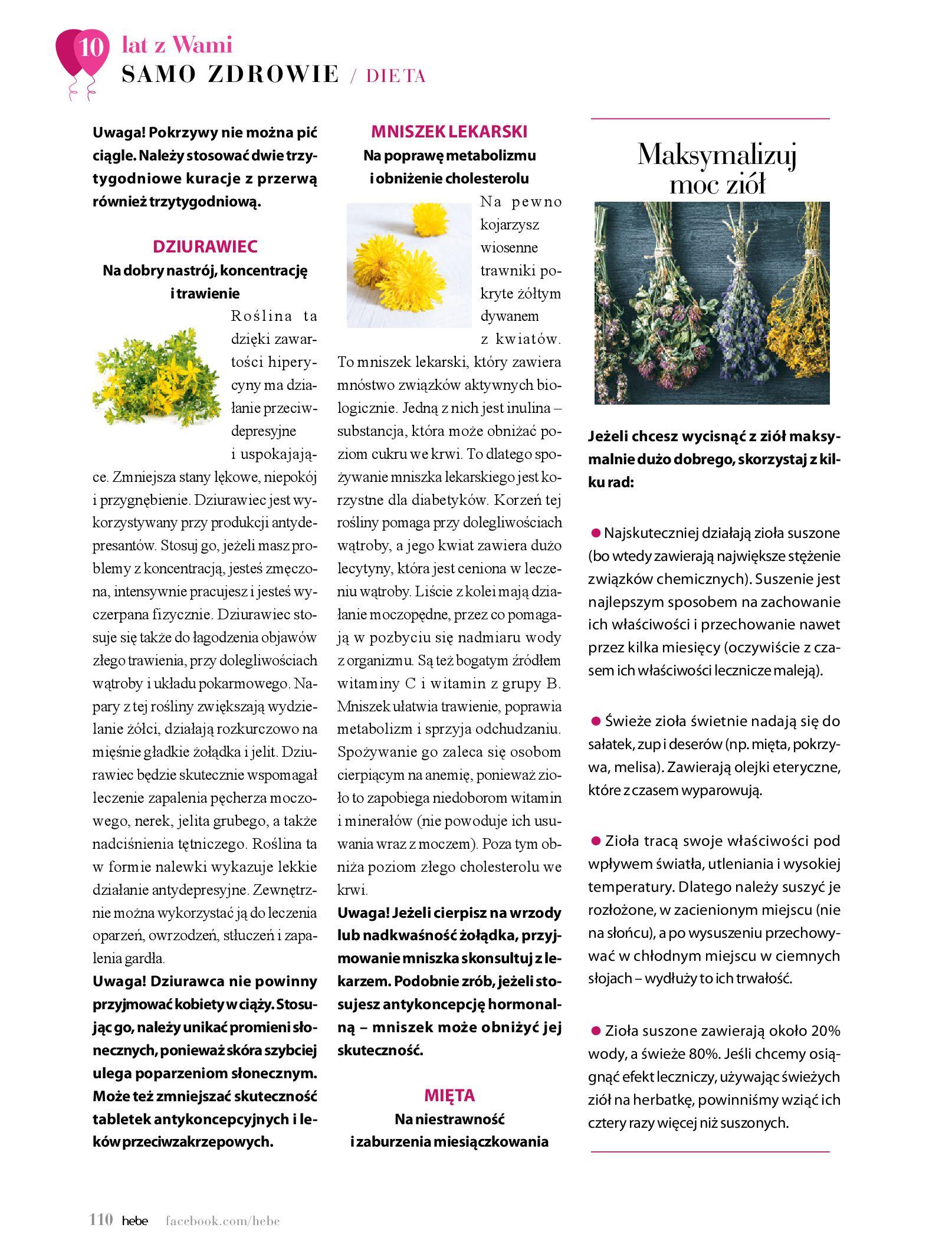 Gazetka hebe: Gazetka Hebe - Magazyn  2021-05-01 page-110
