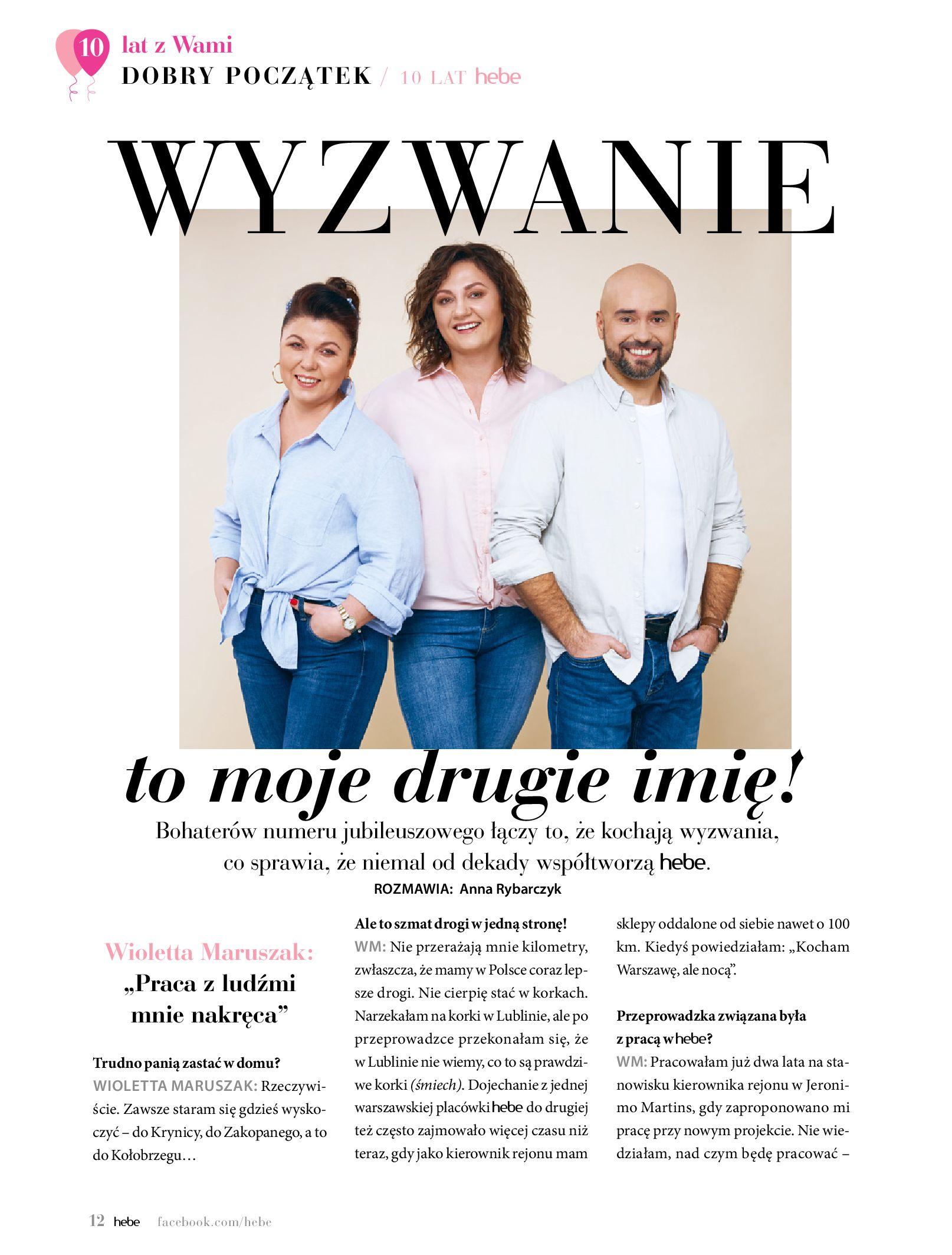 Gazetka hebe: Gazetka Hebe - Magazyn  2021-05-01 page-12