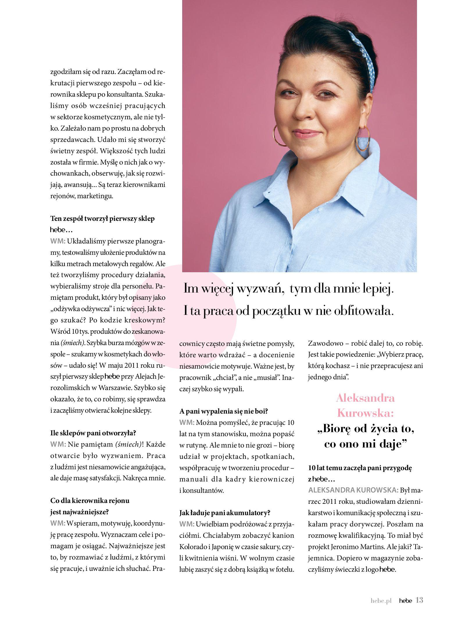 Gazetka hebe: Gazetka Hebe - Magazyn  2021-05-01 page-13