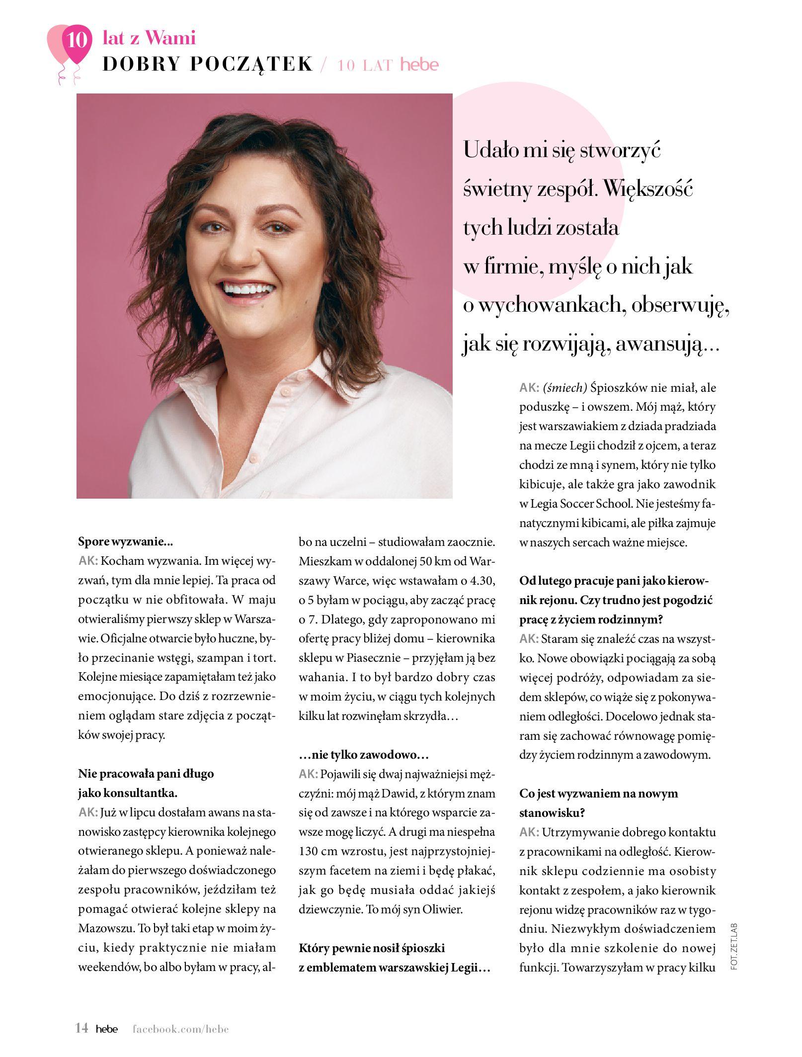 Gazetka hebe: Gazetka Hebe - Magazyn  2021-05-01 page-14
