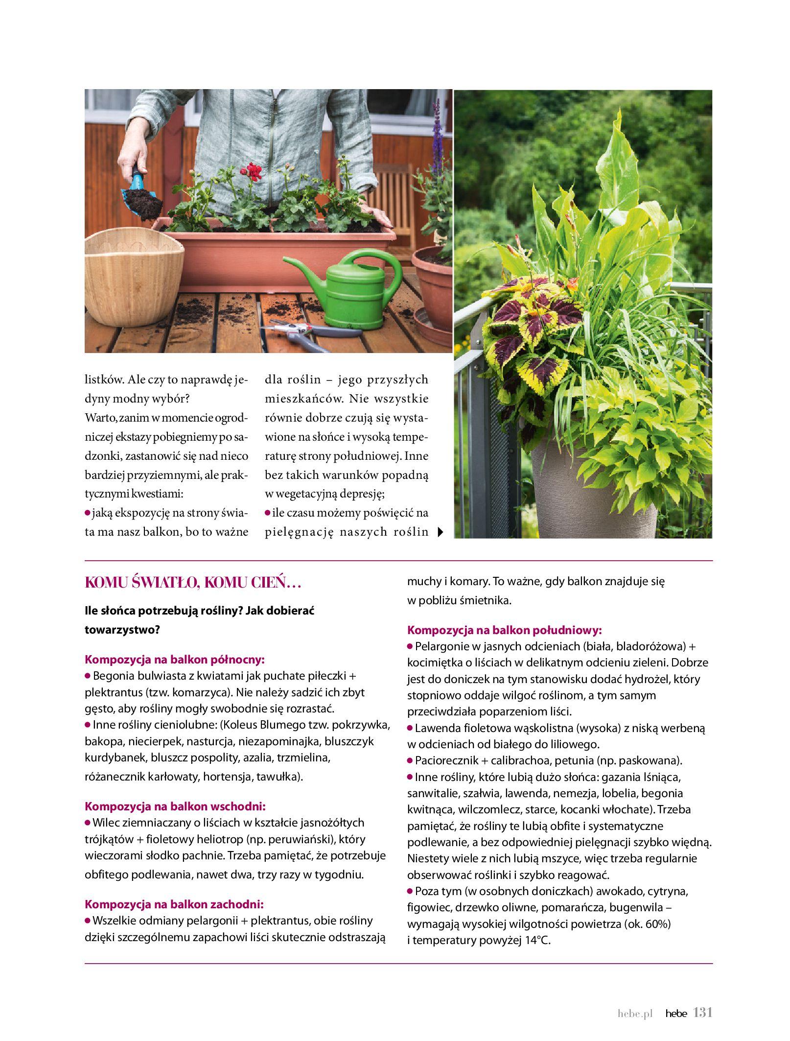 Gazetka hebe: Gazetka Hebe - Magazyn  2021-05-01 page-131