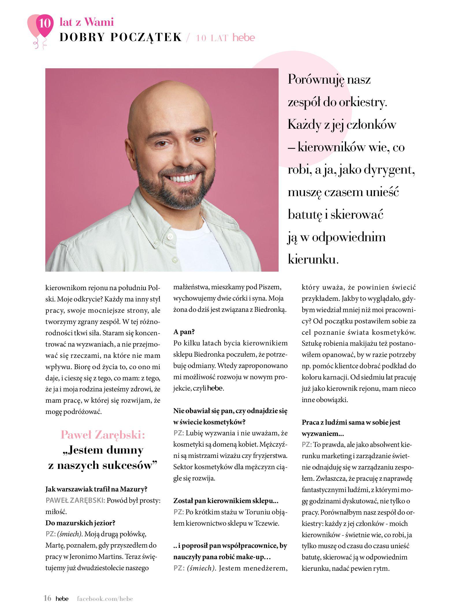 Gazetka hebe: Gazetka Hebe - Magazyn  2021-05-01 page-16