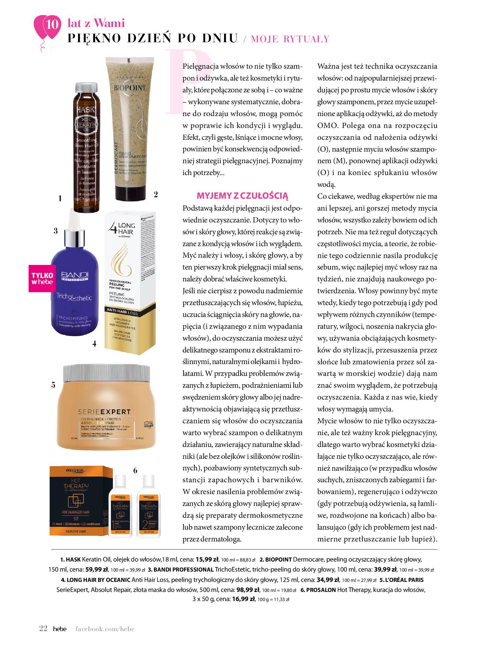 Gazetka hebe: Gazetka Hebe - Magazyn  2021-05-01 page-22