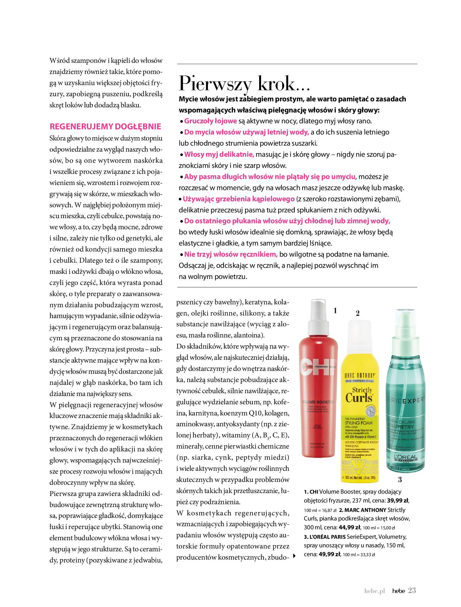 Gazetka hebe: Gazetka Hebe - Magazyn  2021-05-01 page-23