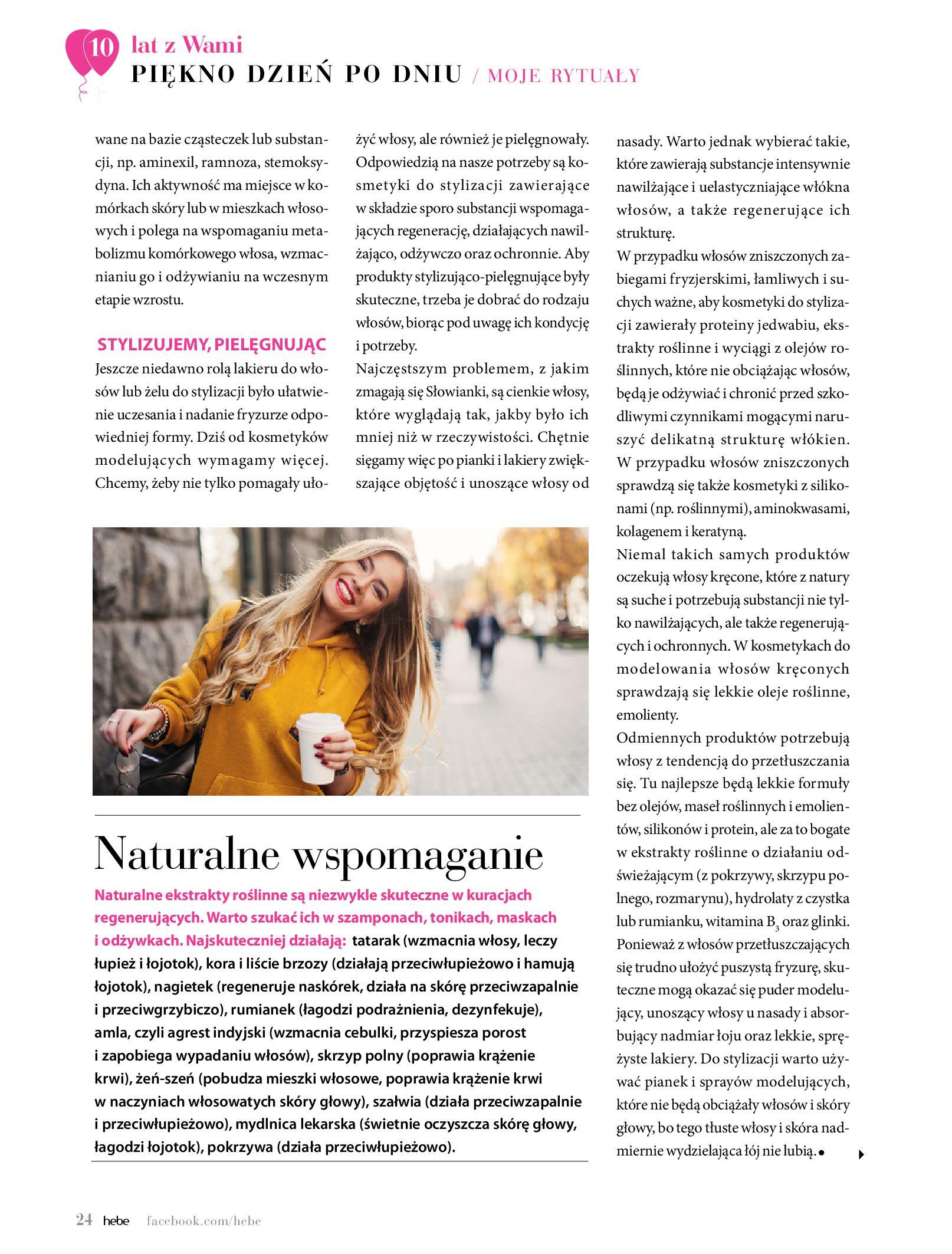 Gazetka hebe: Gazetka Hebe - Magazyn  2021-05-01 page-24