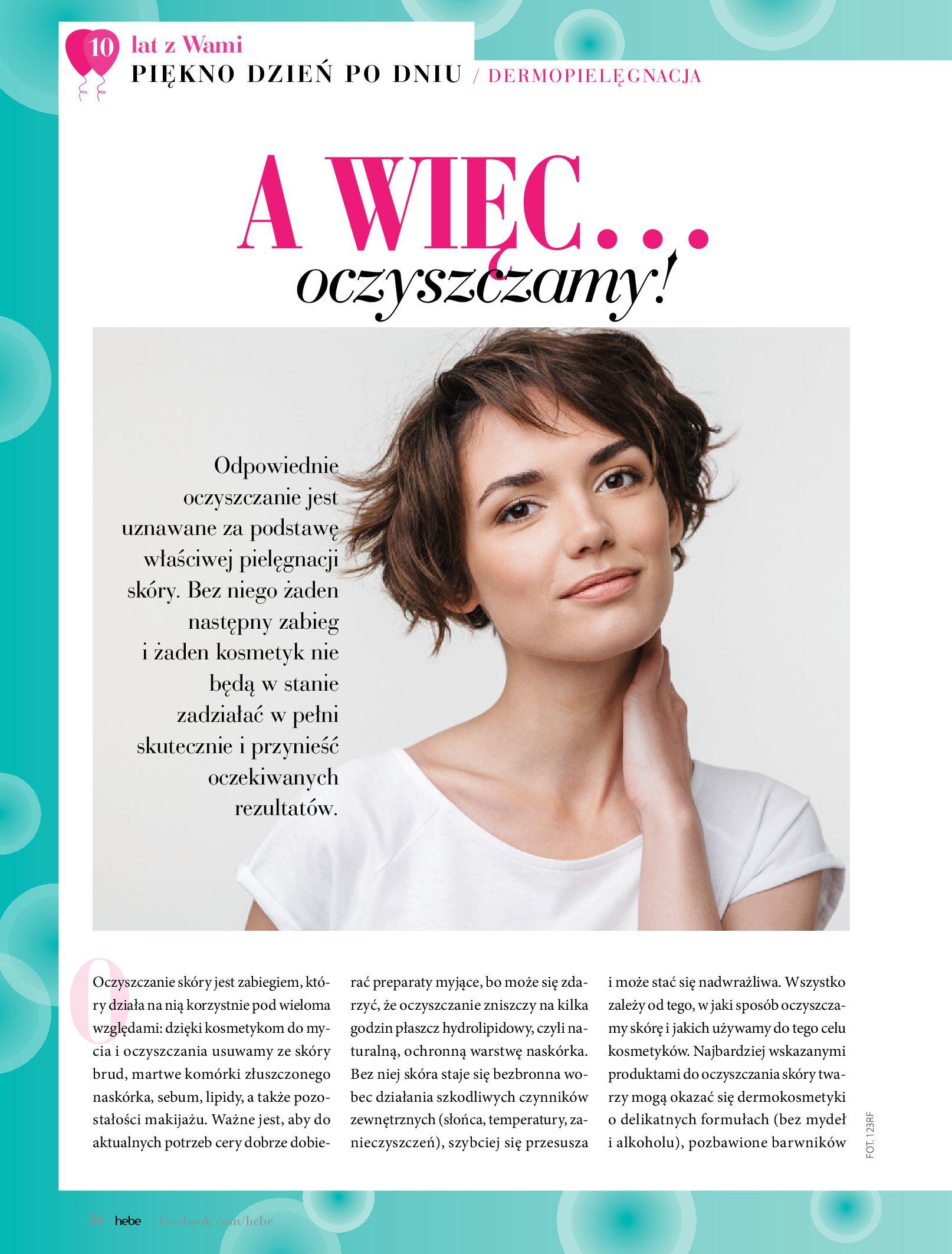 Gazetka hebe: Gazetka Hebe - Magazyn  2021-05-01 page-36
