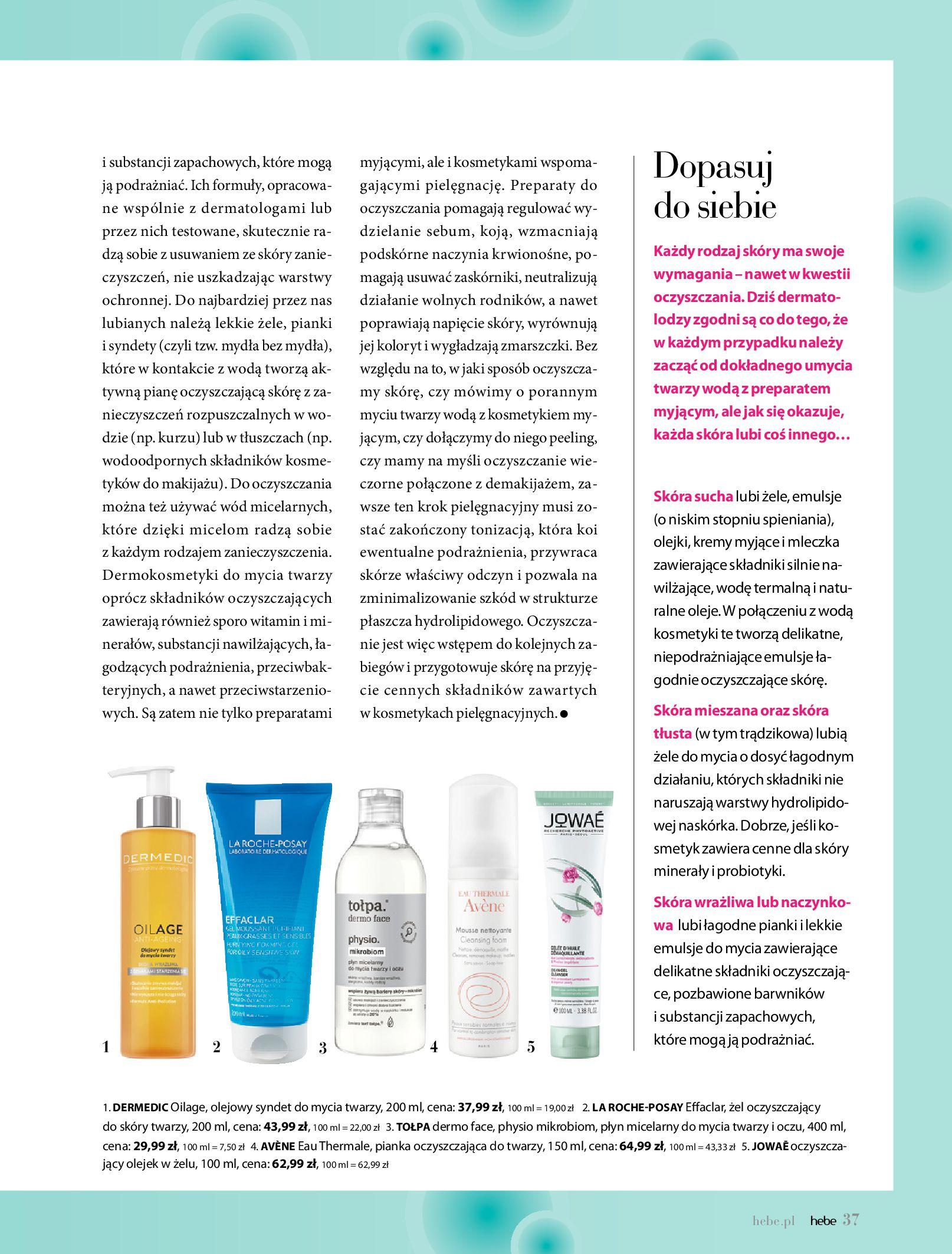 Gazetka hebe: Gazetka Hebe - Magazyn  2021-05-01 page-37