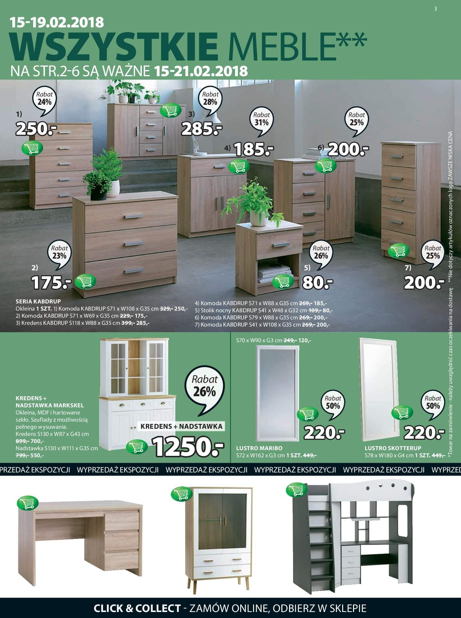 Gazetka Jysk - Inspirujące mieszkanie-14.02.2018-28.02.2018-page-3