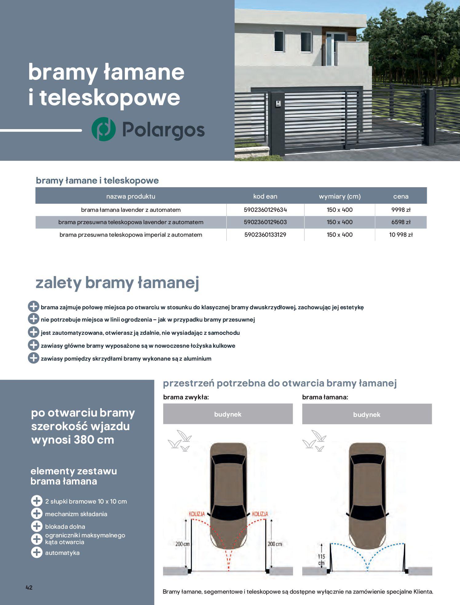 Gazetka Castorama: Przewodnik bramy i ogrodzenia 2021-02-08 page-42