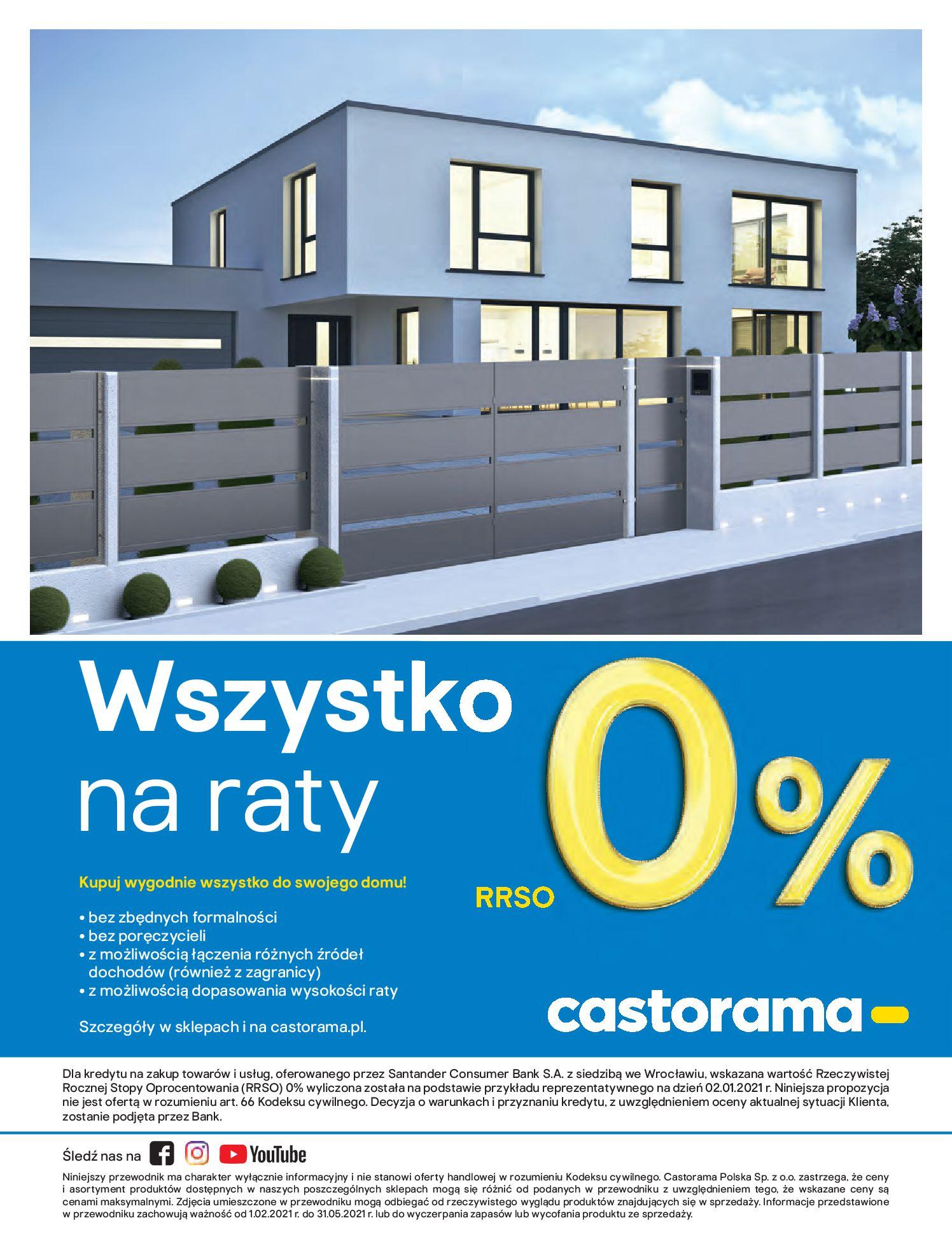 Gazetka Castorama: Przewodnik bramy i ogrodzenia 2021-02-08 page-60