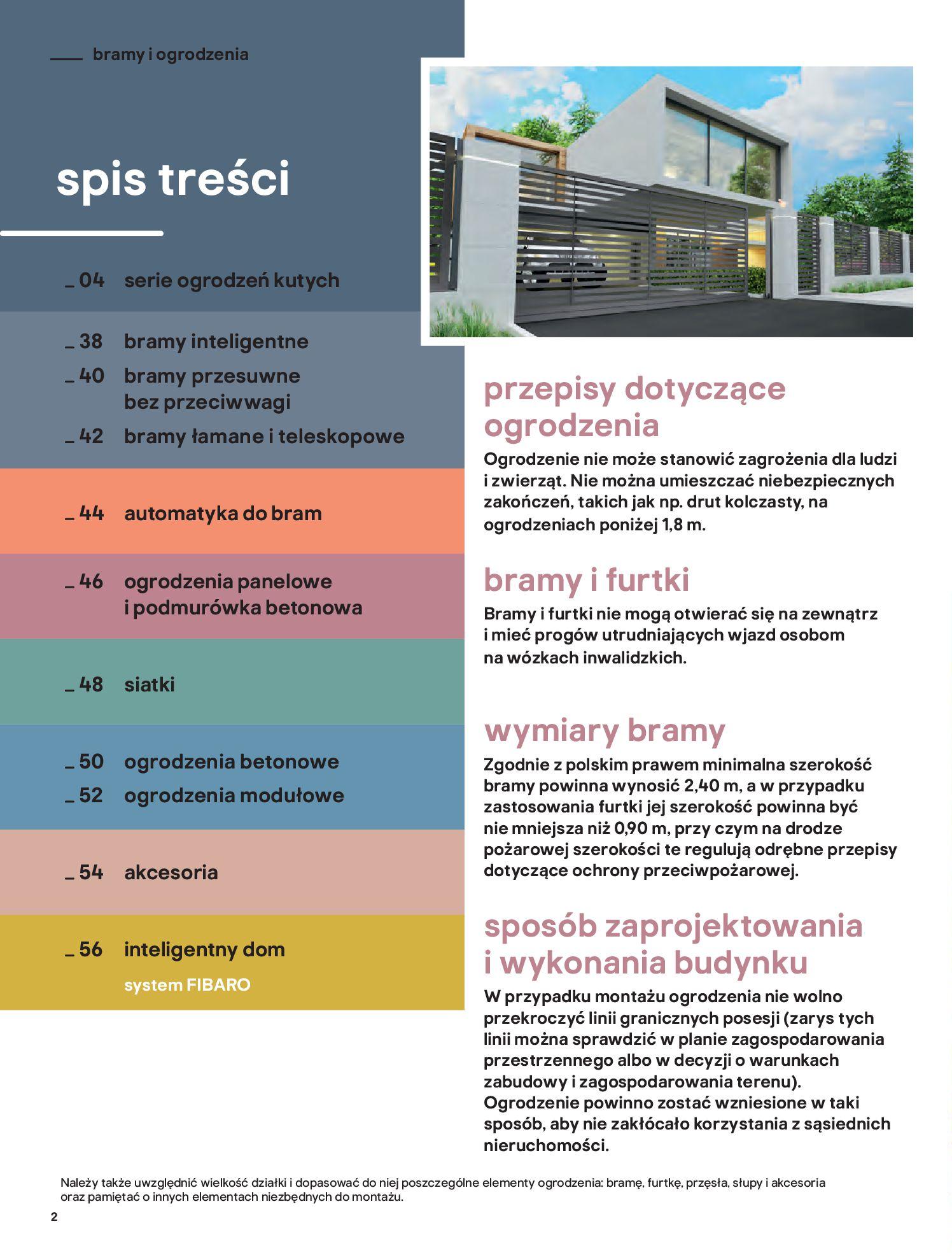 Gazetka Castorama: Przewodnik bramy i ogrodzenia 2021-02-08 page-2
