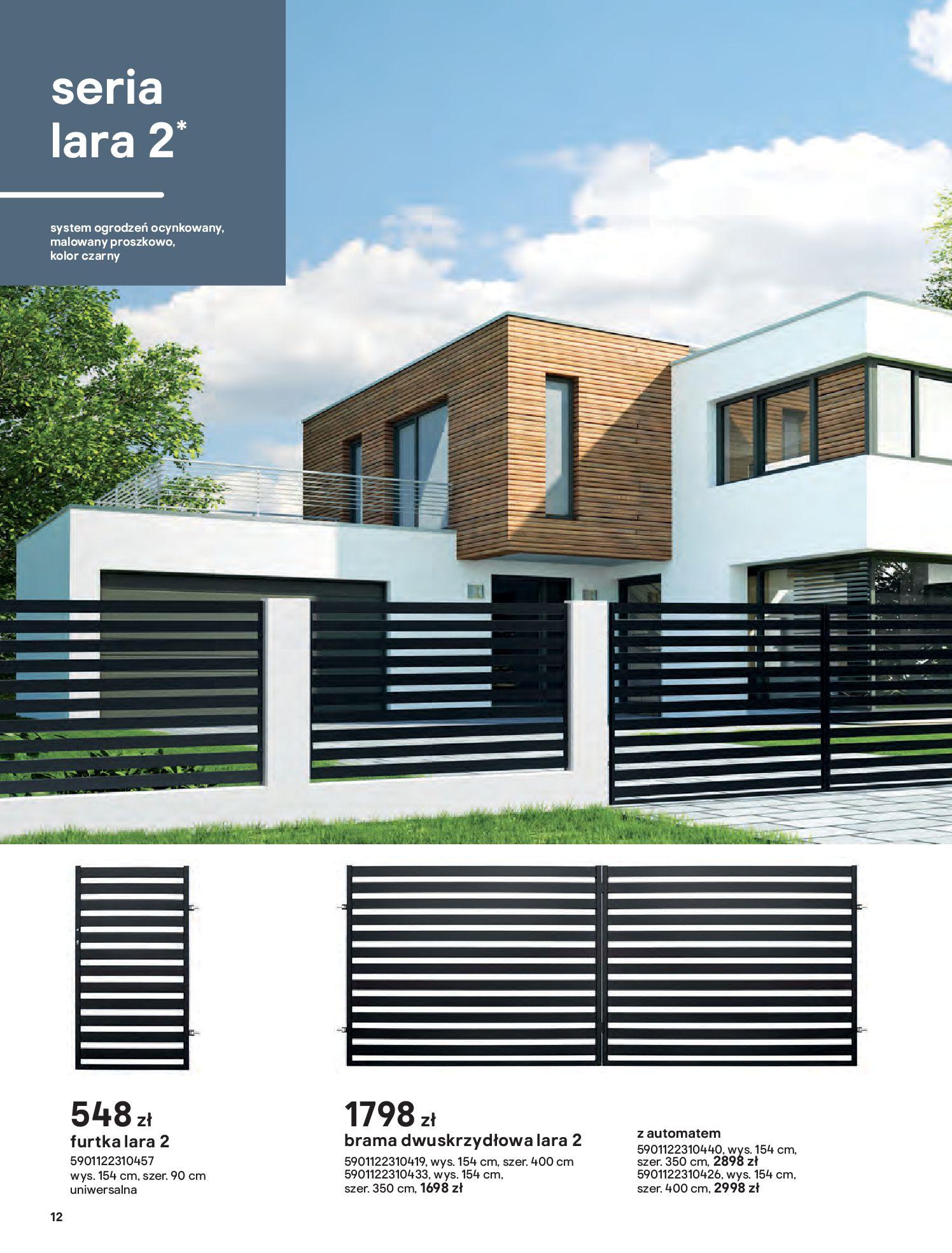 Gazetka Castorama: Przewodnik bramy i ogrodzenia 2021-02-08 page-12